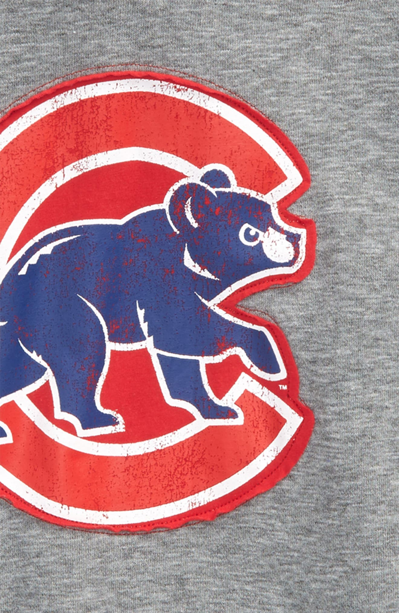 New Beginnings - Chicago Cubs Pullover Hoodie,                             Alternate thumbnail 2, color,                             Gray
