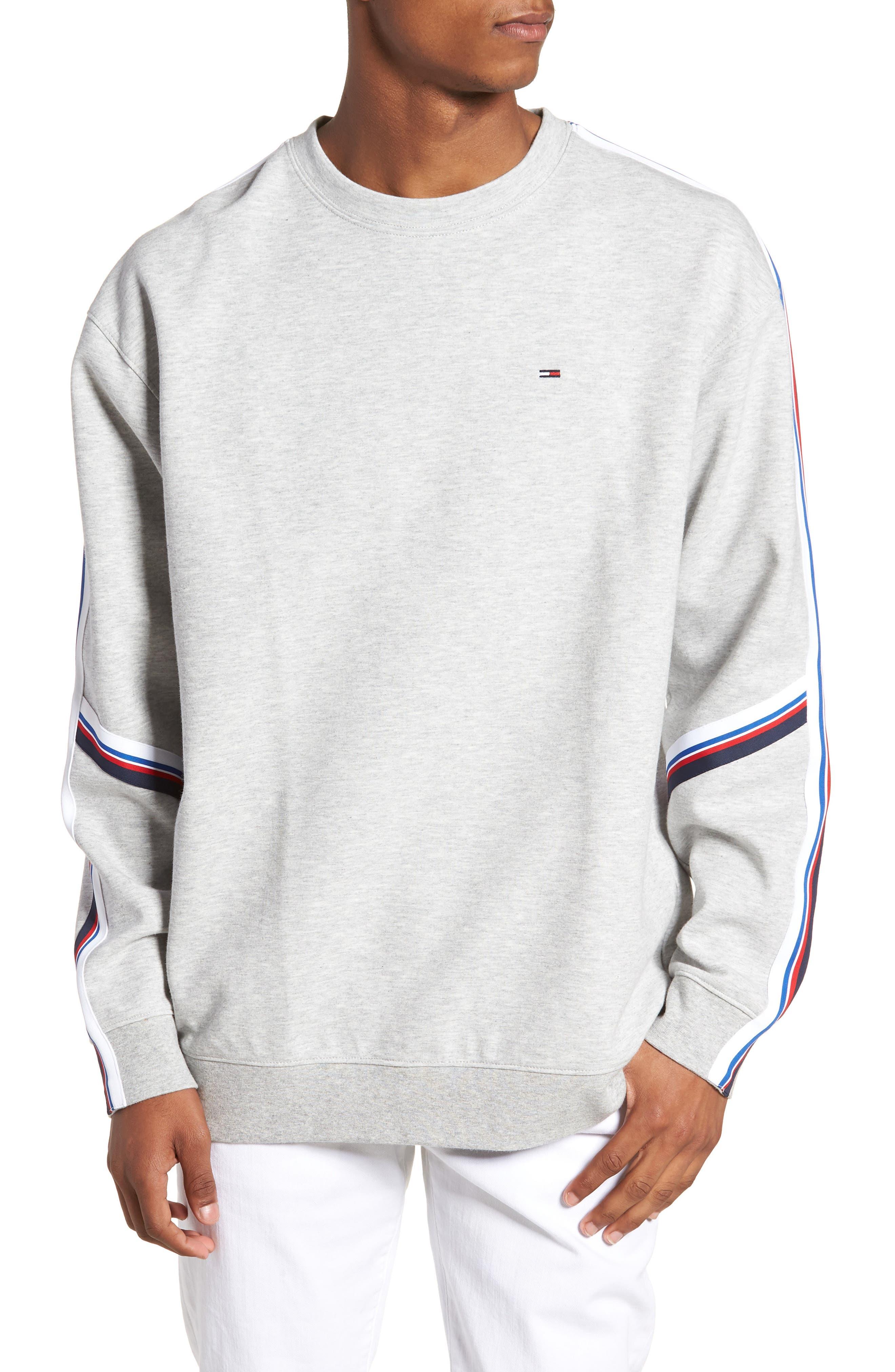 Main Image - TOMMY JEANS Racing Stripe Sweatshirt