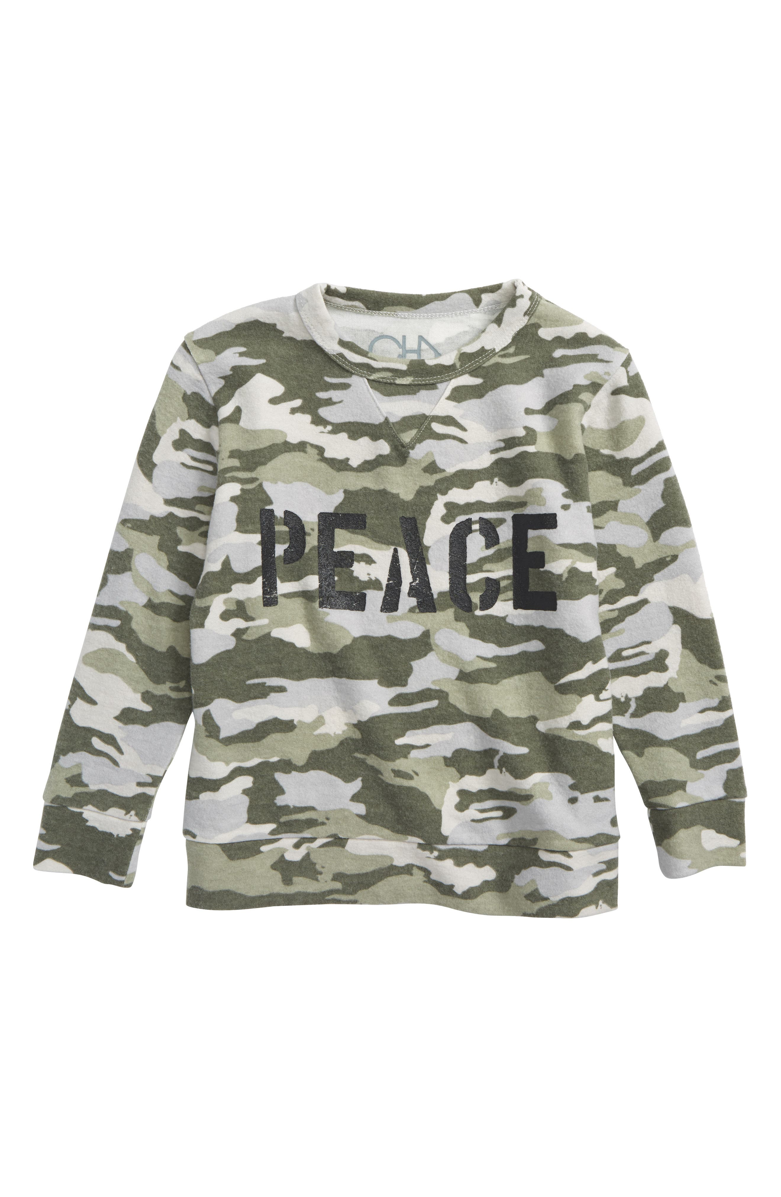 Peace Camo Shirt,                         Main,                         color, Camoflage