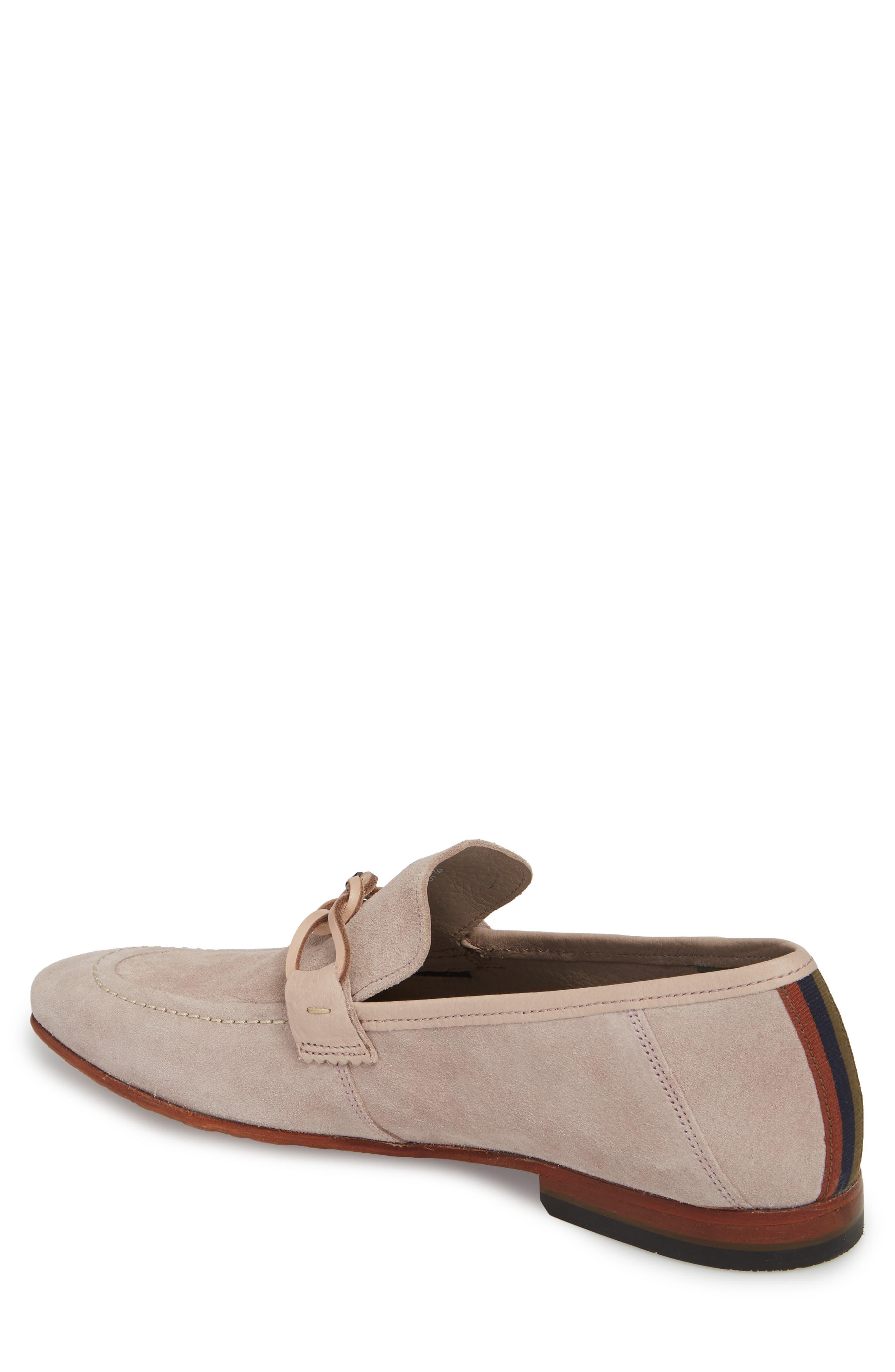 Hoppken Convertible Knotted Loafer,                             Alternate thumbnail 2, color,                             Light Pink Suede