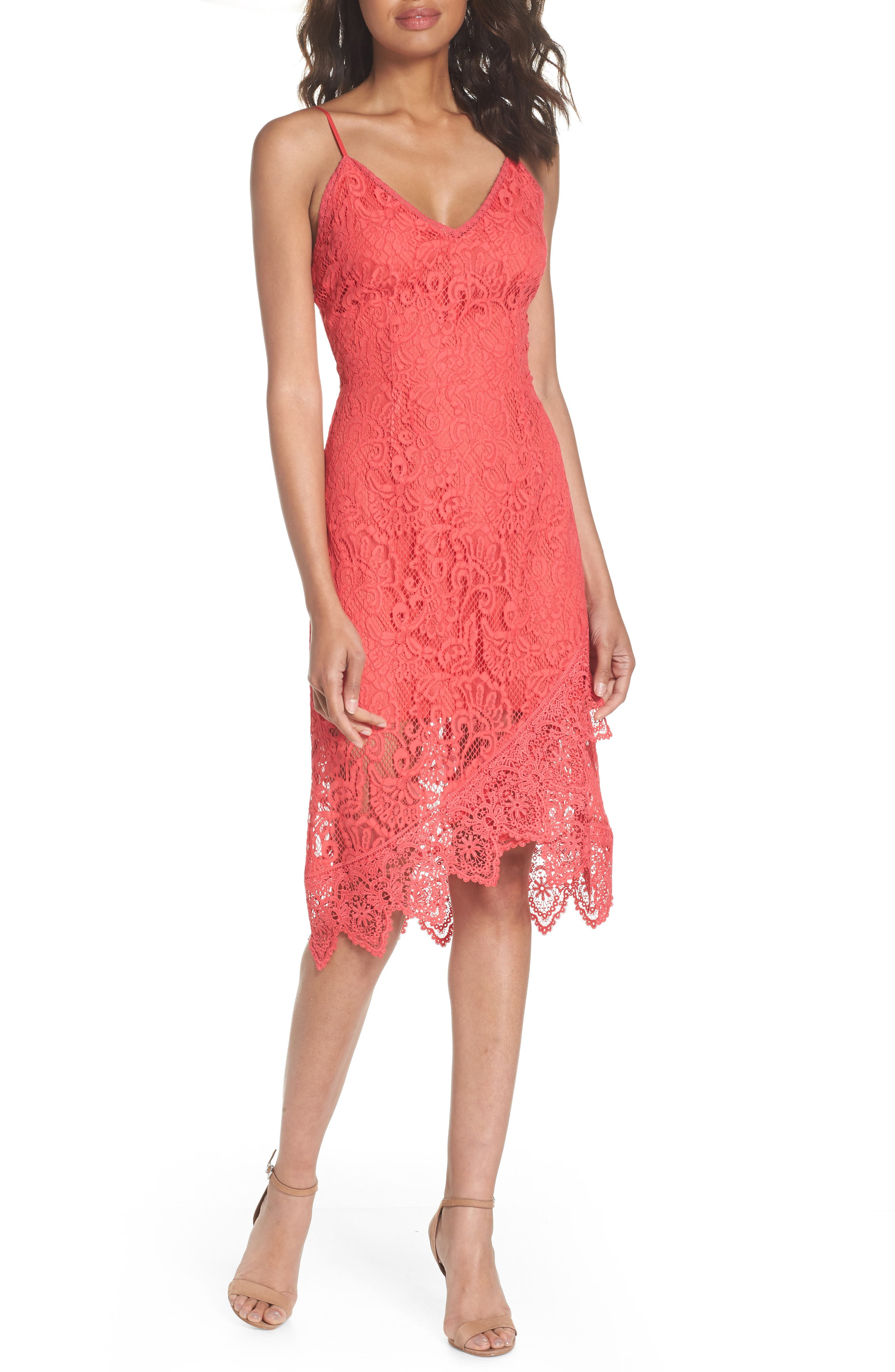 BB Dakota Rylee Sleeveless Lace Dress
