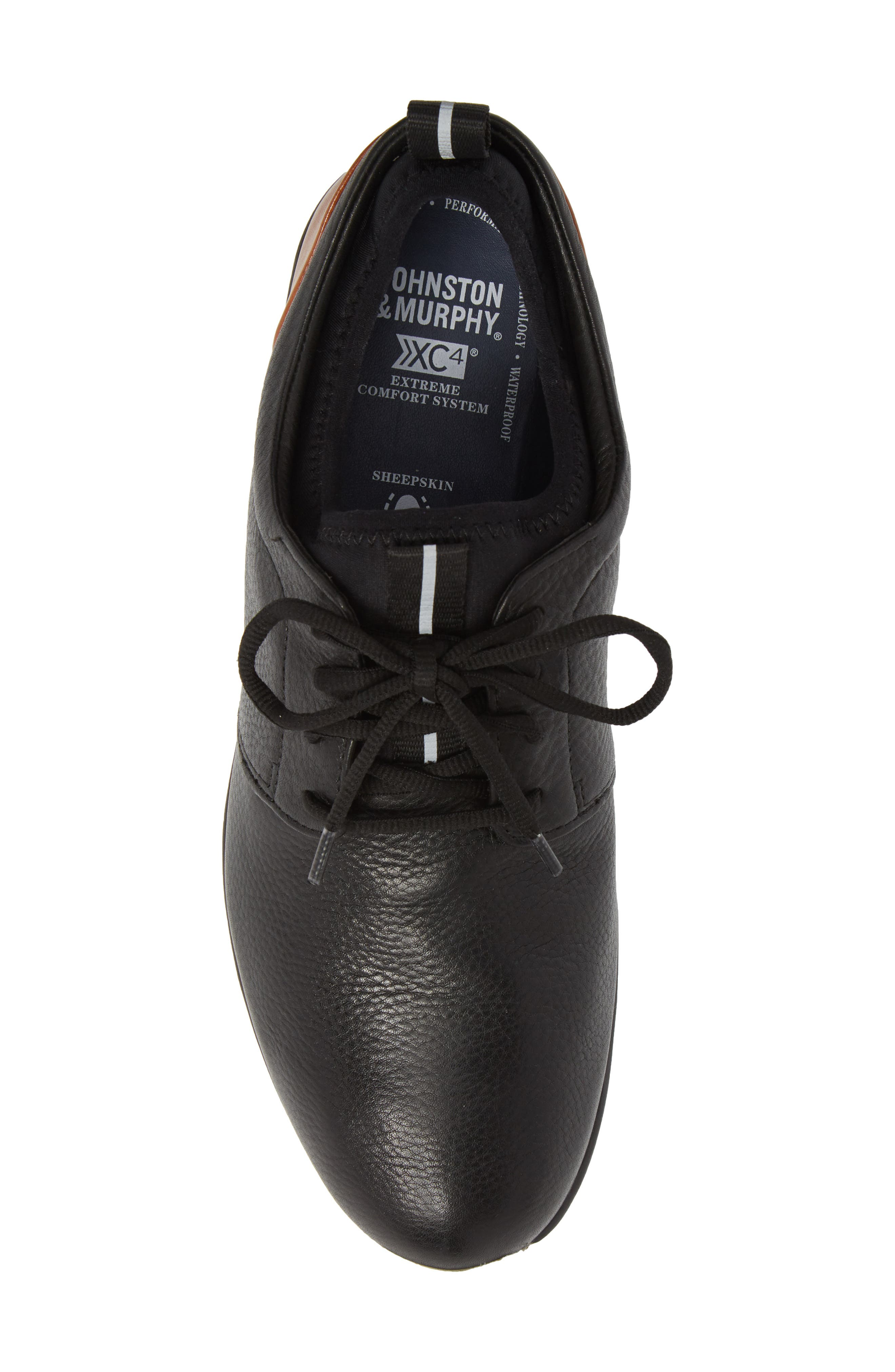 Alternate Image 5  - Johnston & Murphy Prentiss XC4® Waterproof Low Top Sneaker (Men)
