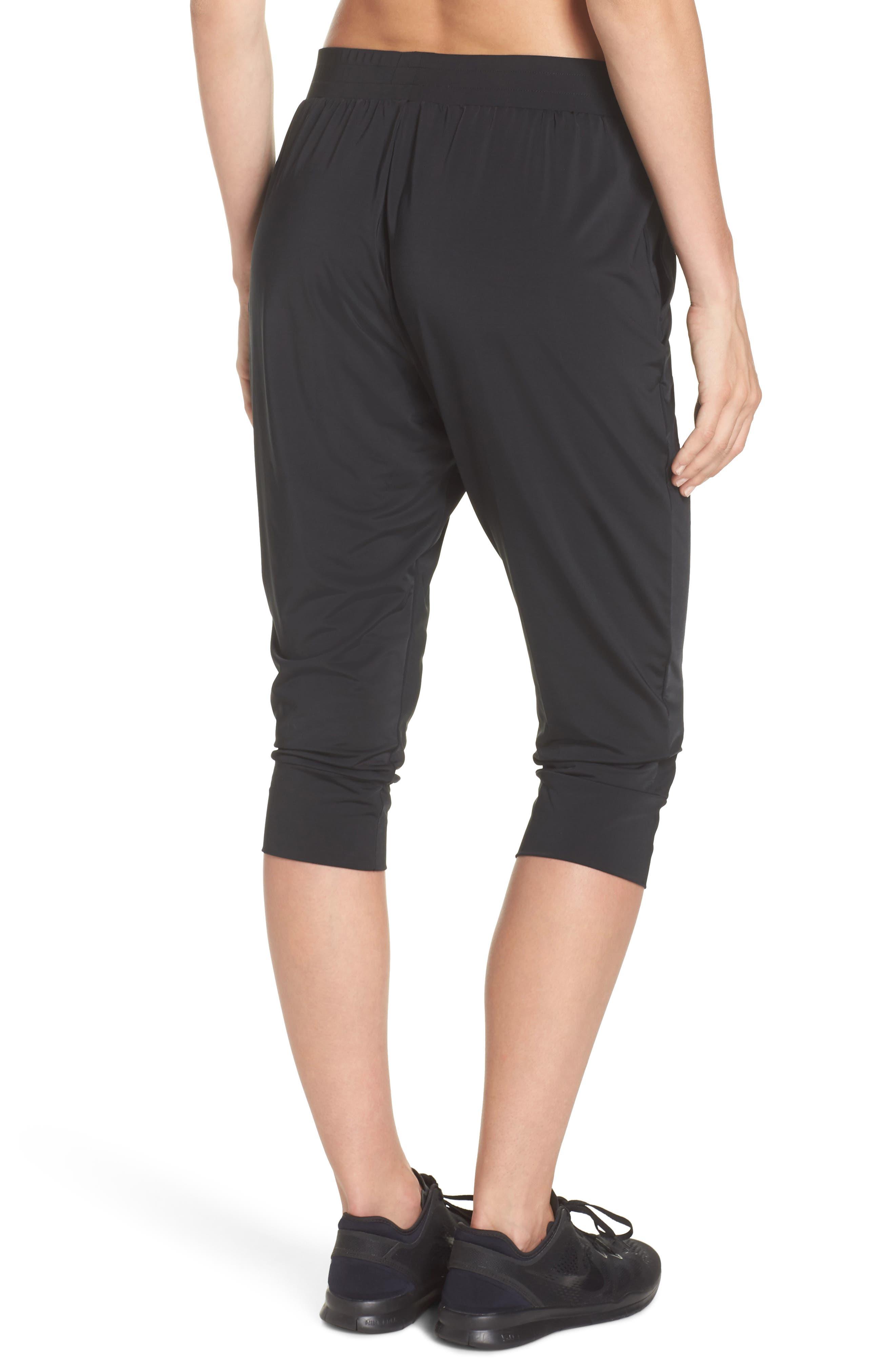 Dry Touch Training Pants,                             Alternate thumbnail 2, color,                             Black/ Black
