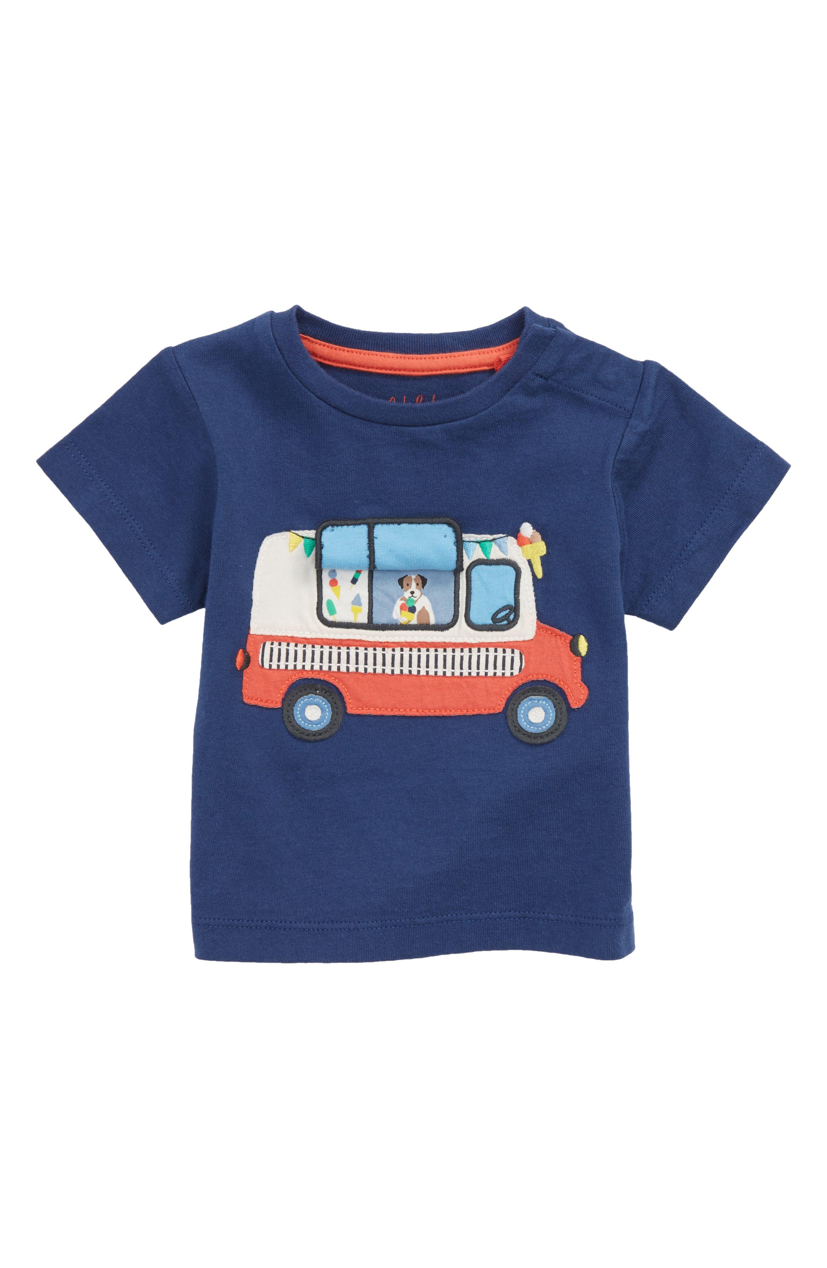 Peekaboo T-Shirt,                             Alternate thumbnail 2, color,                             Beacon Blue