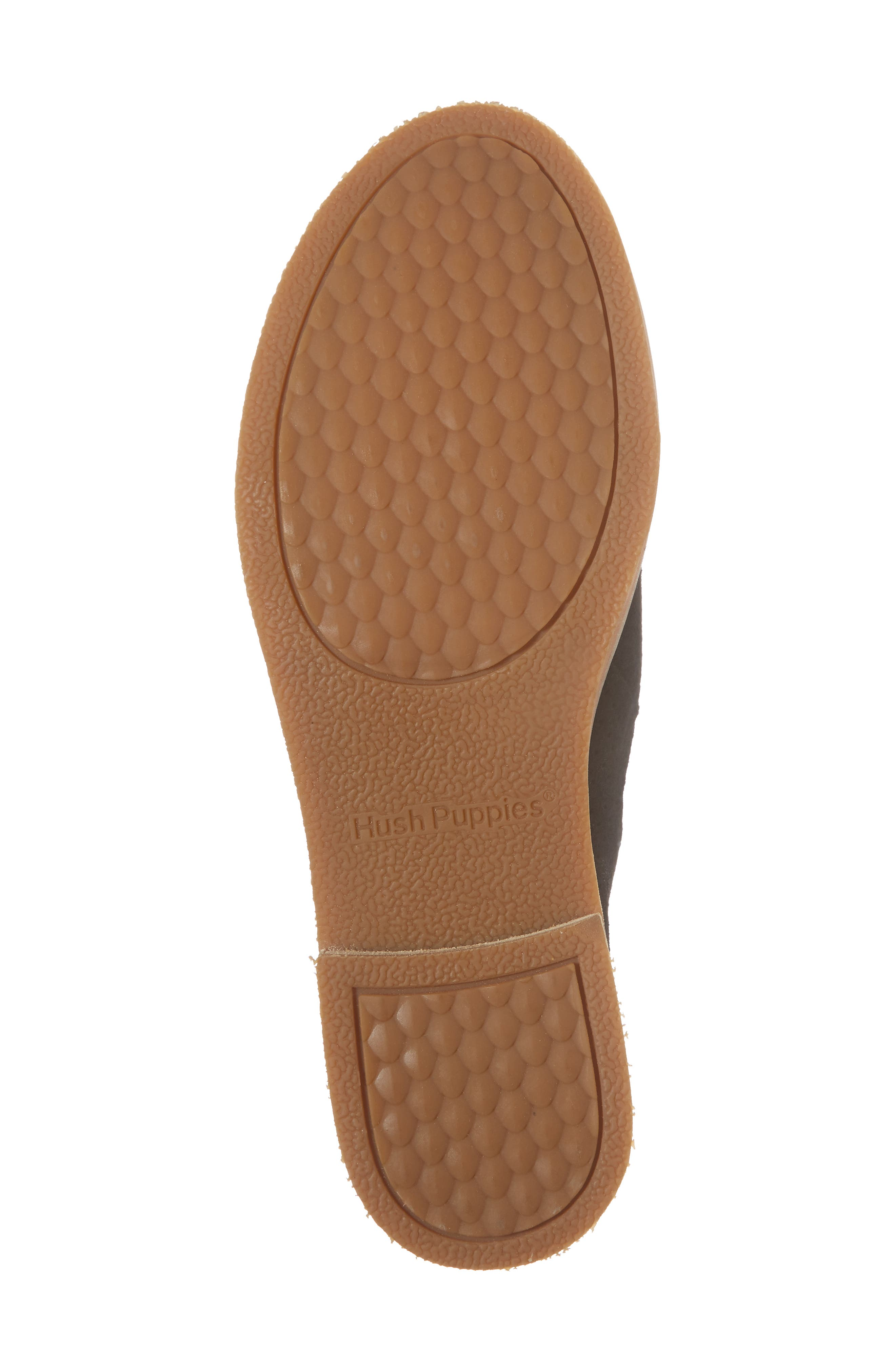 Hush Puppies Analise Clever Slip-On,                             Alternate thumbnail 6, color,                             Black Perforated Suede