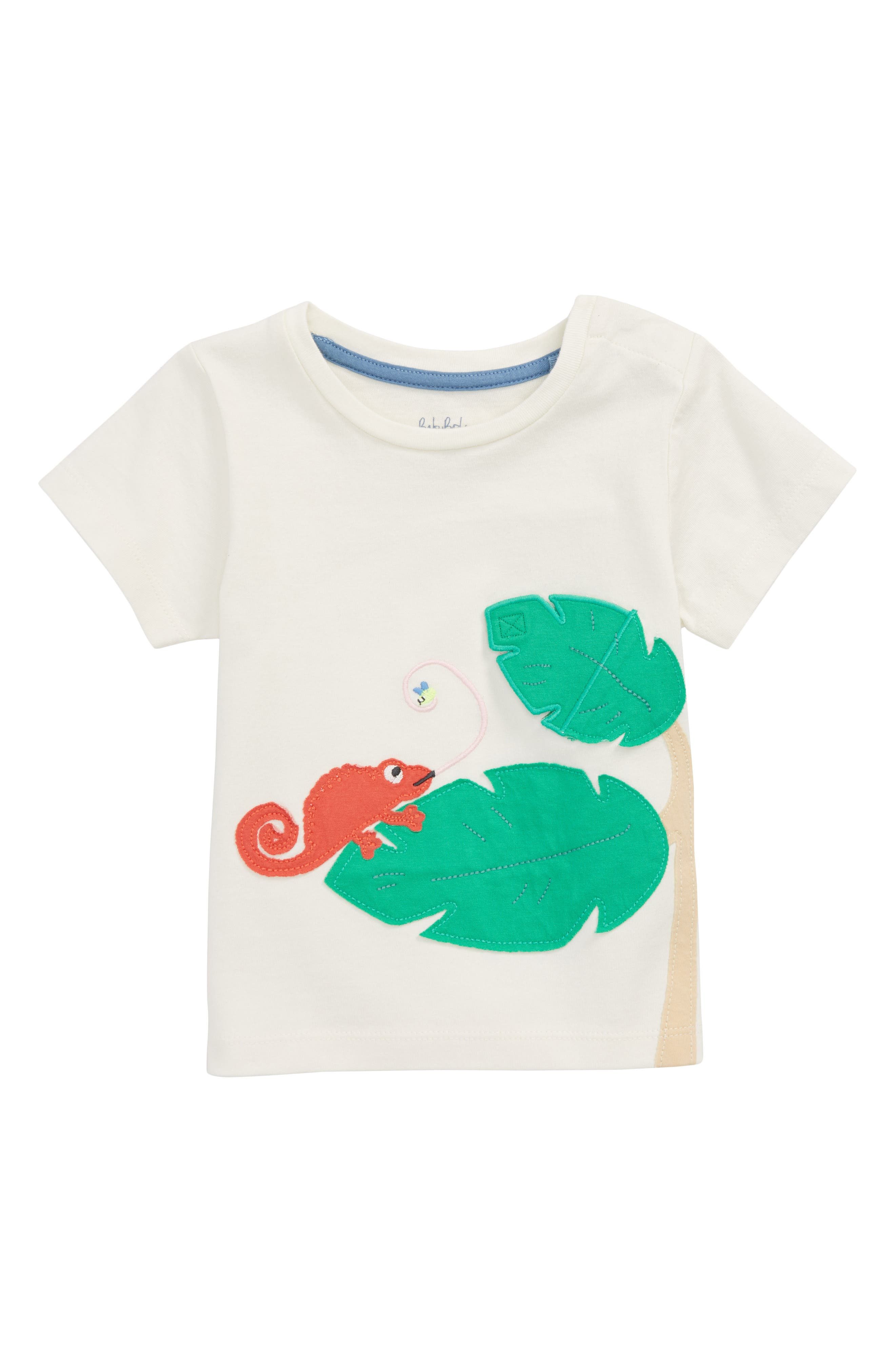 Peekaboo T-Shirt,                         Main,                         color, Ivory Lizards