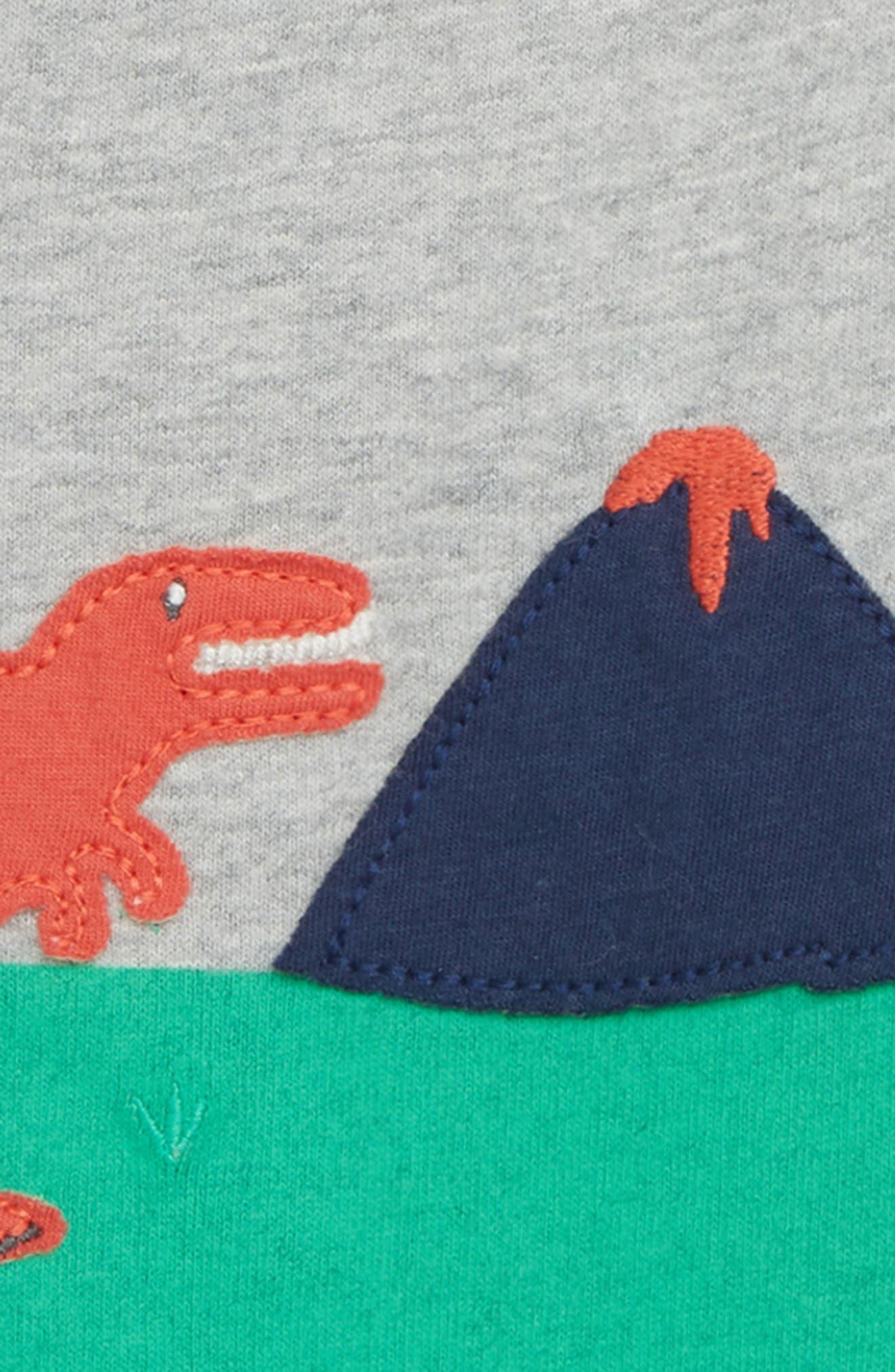 Animal Explorer T-Shirt,                             Alternate thumbnail 2, color,                             Grey Marl