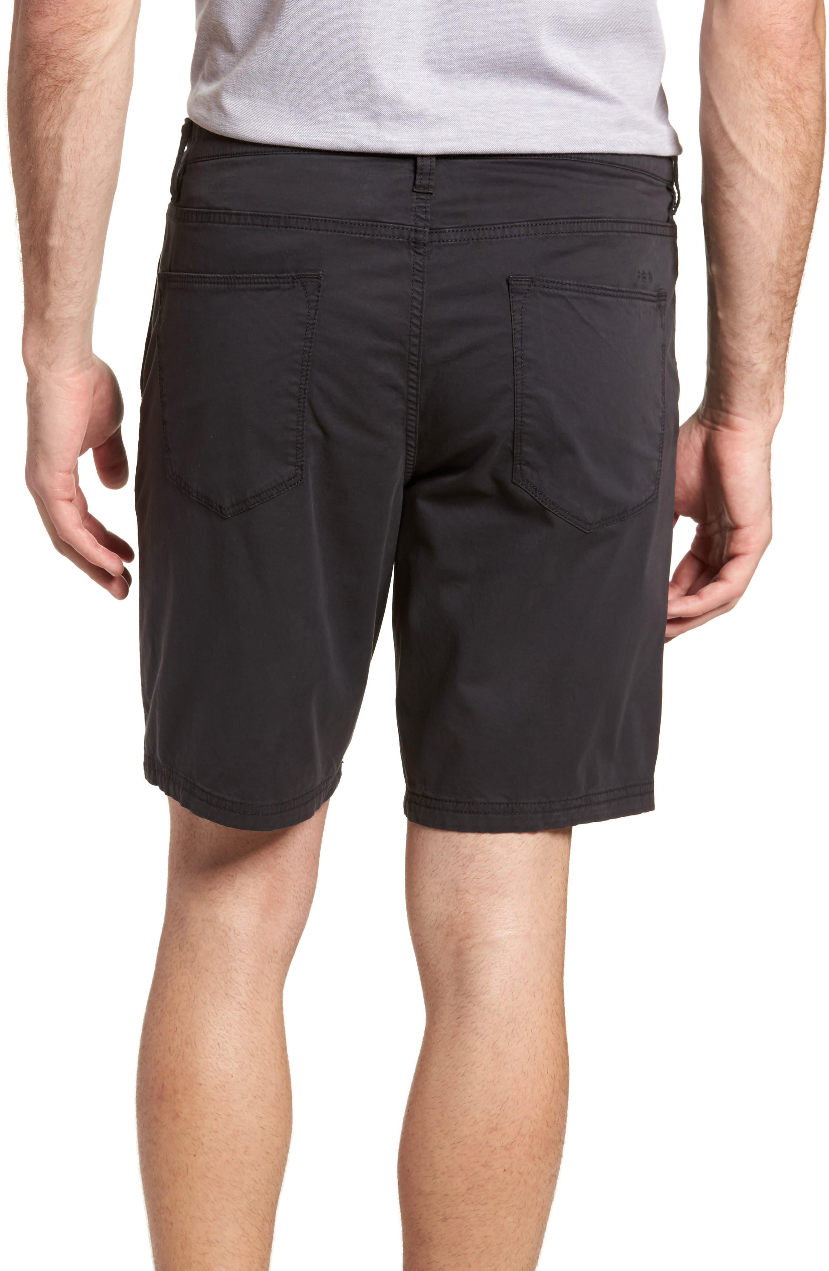 Casual Shorts,                             Alternate thumbnail 2, color,                             Black