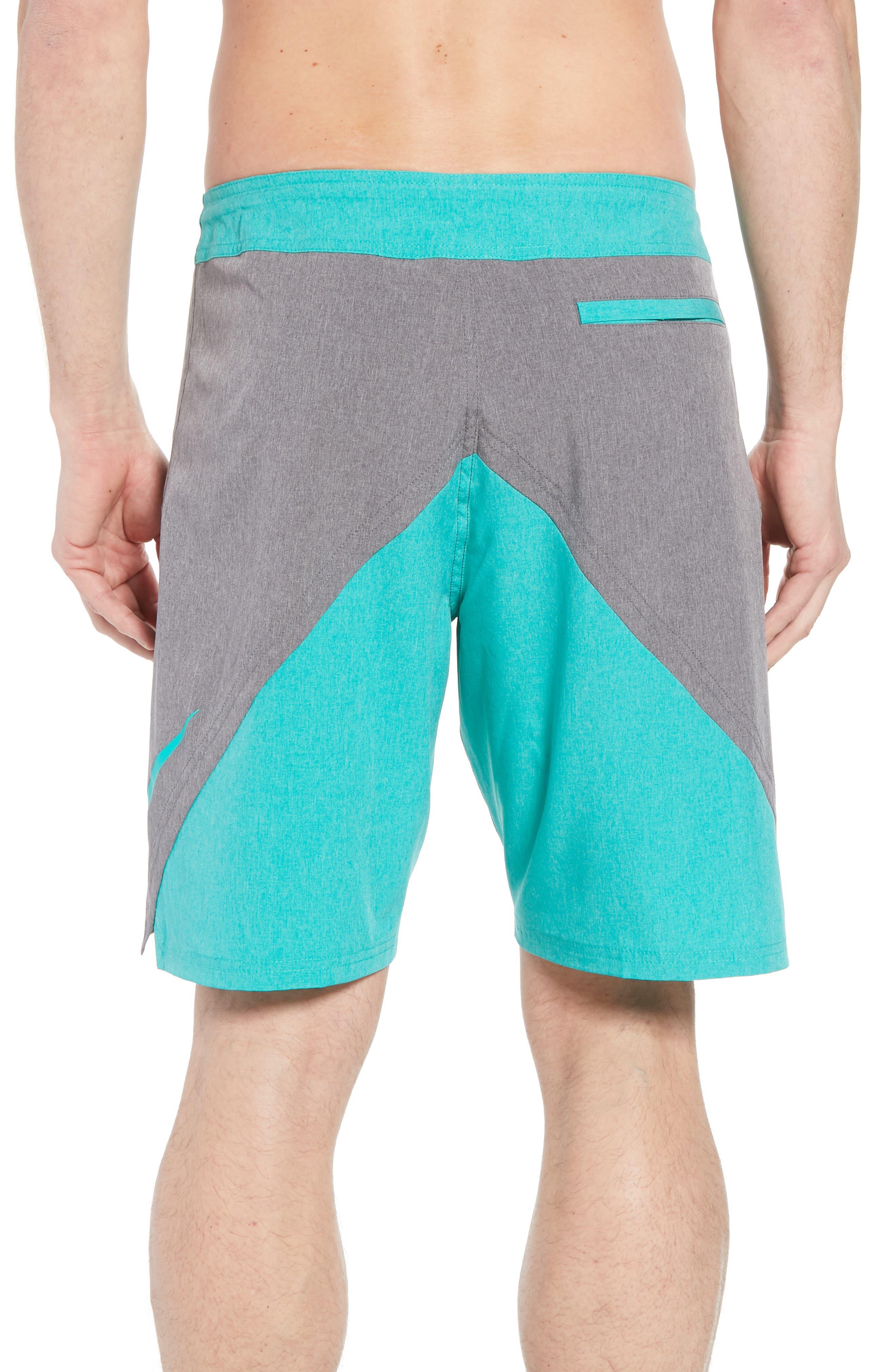 Vortex Board Shorts,                             Alternate thumbnail 2, color,                             Obsidian