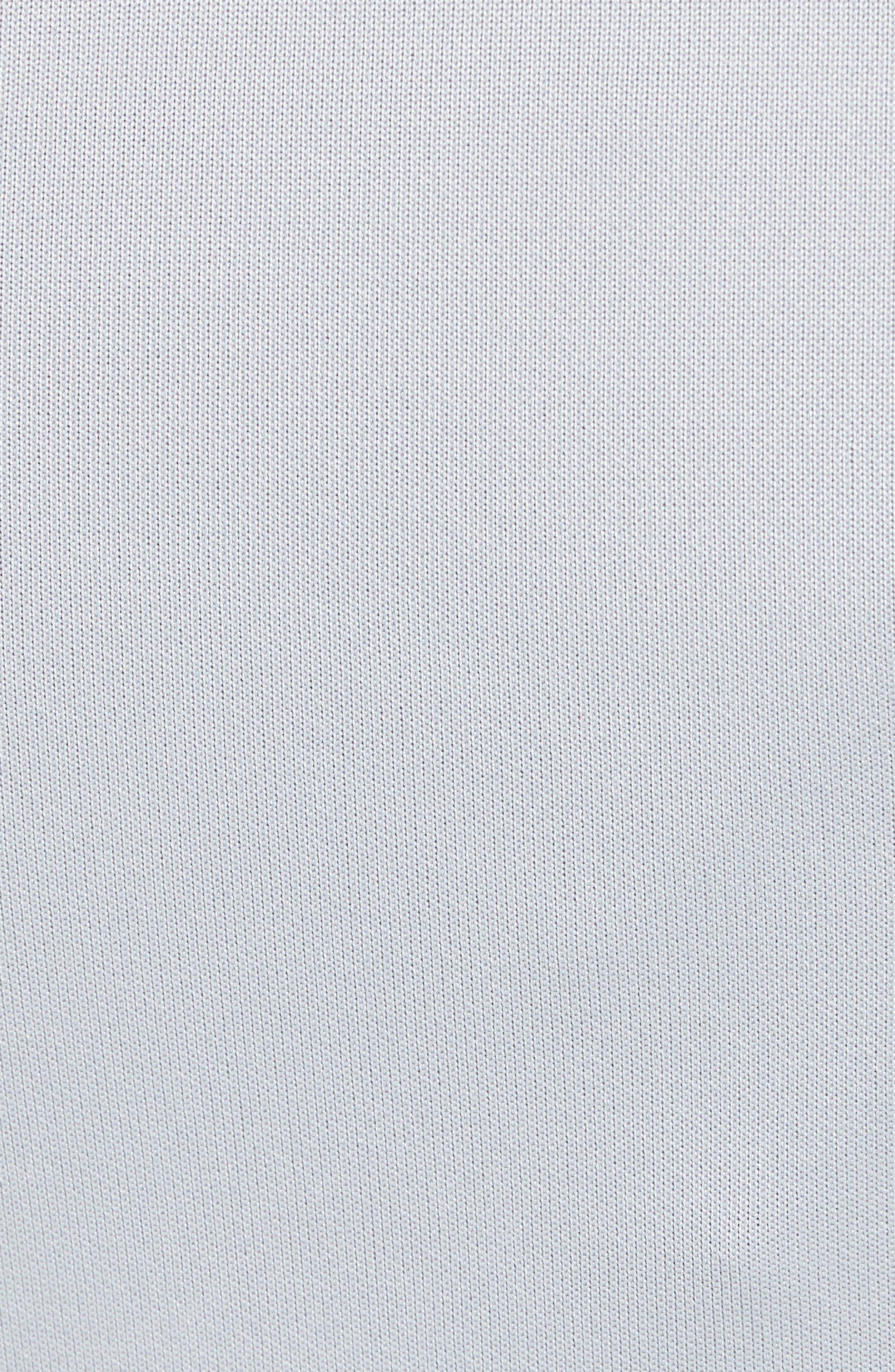 Rise Tear-Away Jogger Pants,                             Alternate thumbnail 5, color,                             Wolf Grey/ Black