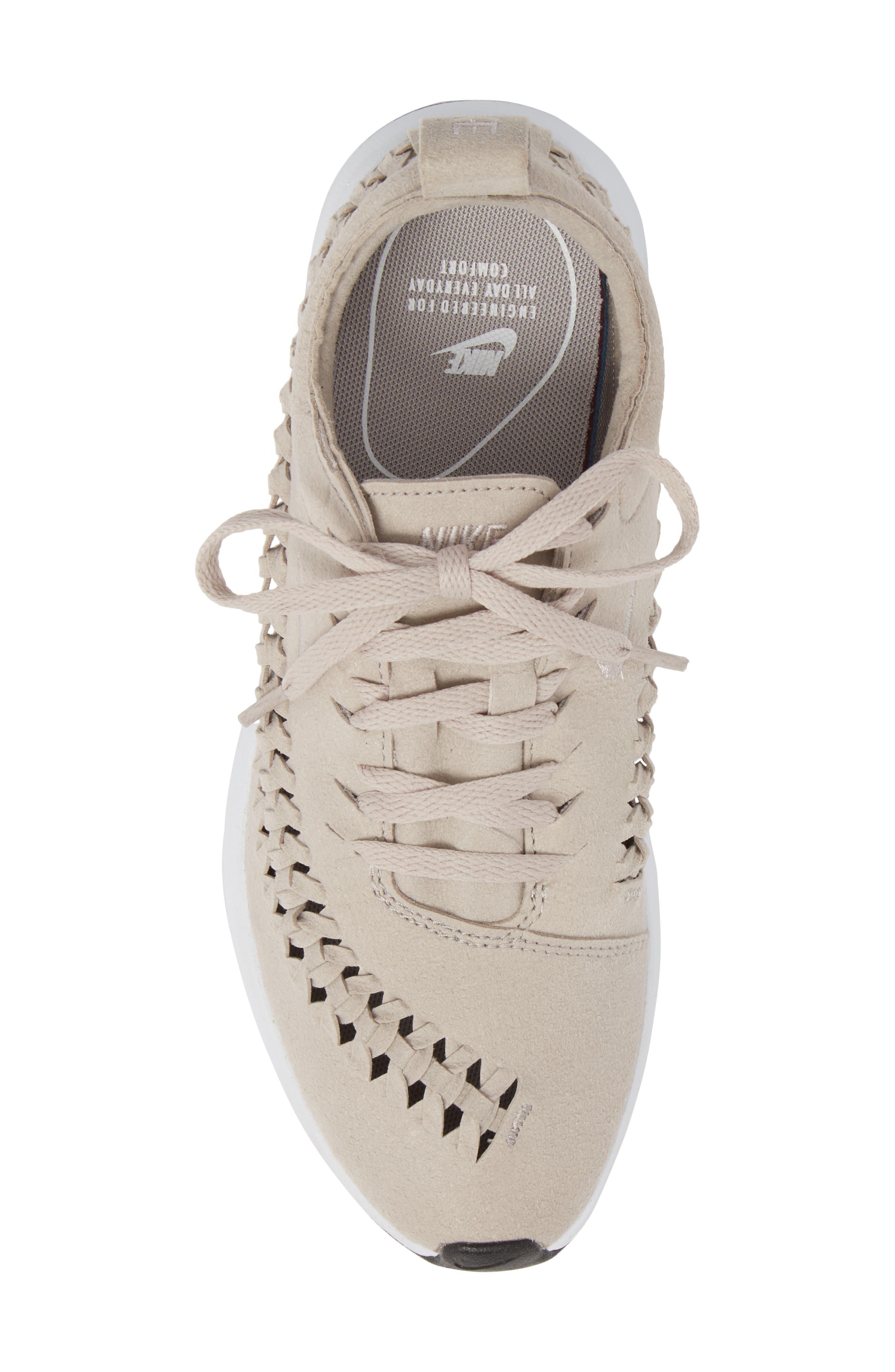 Dualtone Racer Woven Sneaker,                             Alternate thumbnail 5, color,                             Moon Particle/ Moon Particle