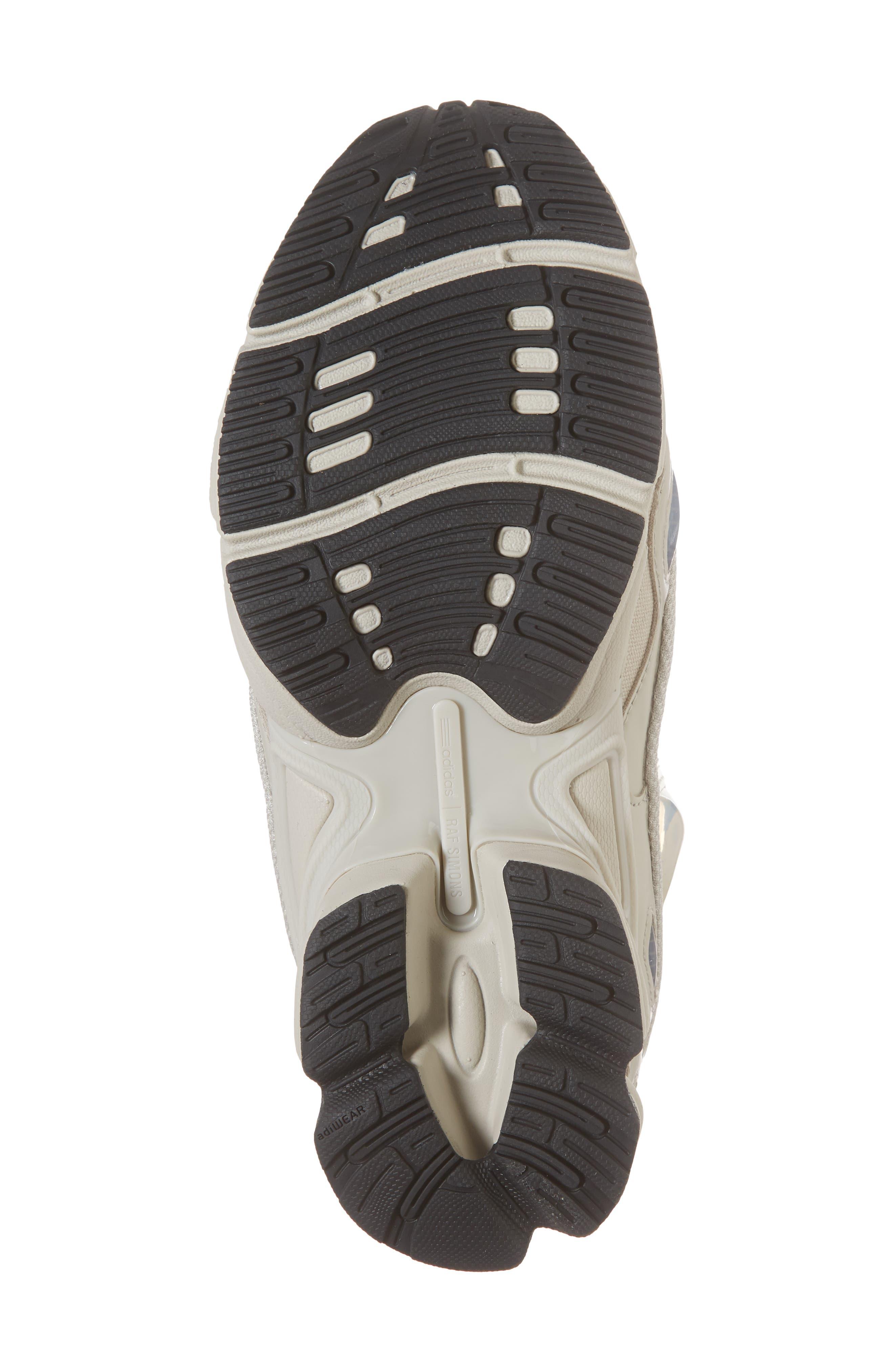 adidas by Raf Simons Ozweego III Sneaker,                             Alternate thumbnail 6, color,                             Cream White/ Mist Stone/ Black