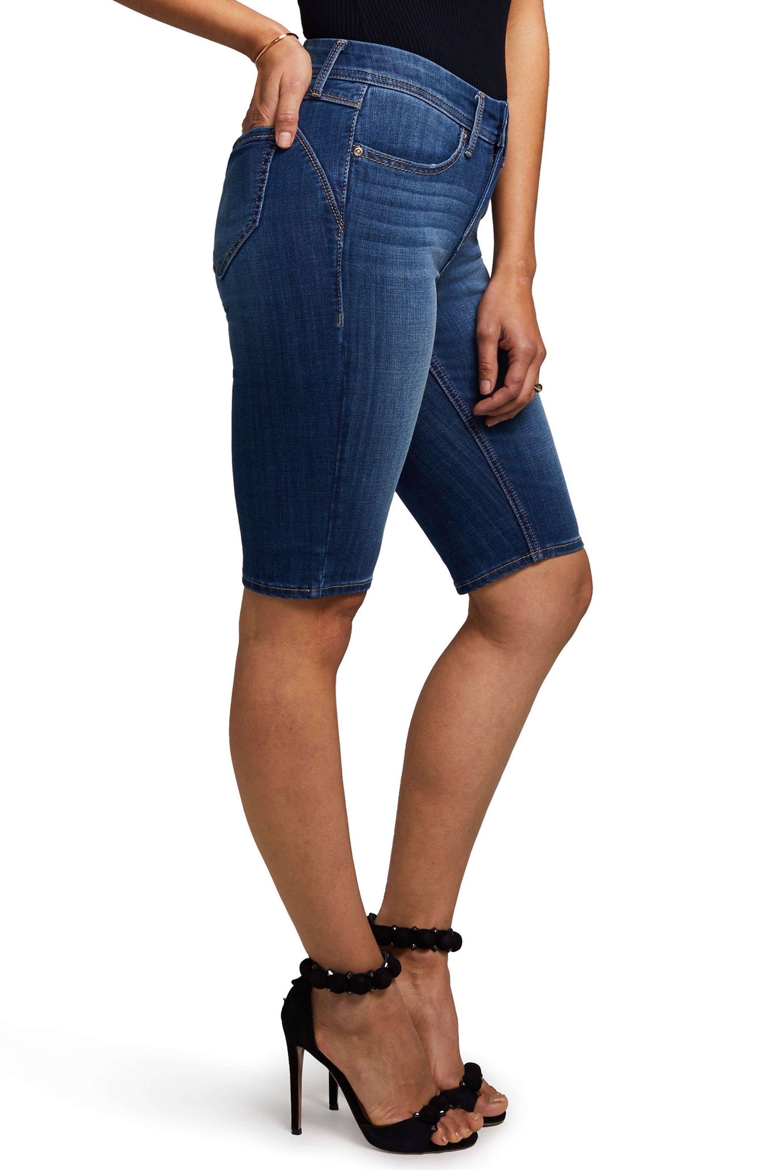 Boost Skinny Shorts,                             Alternate thumbnail 3, color,                             Carya