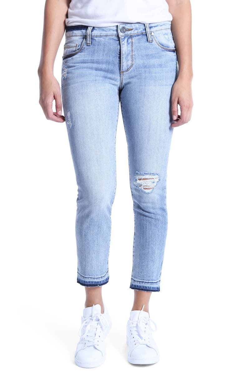 Reese Ripped Ankle Jeans
