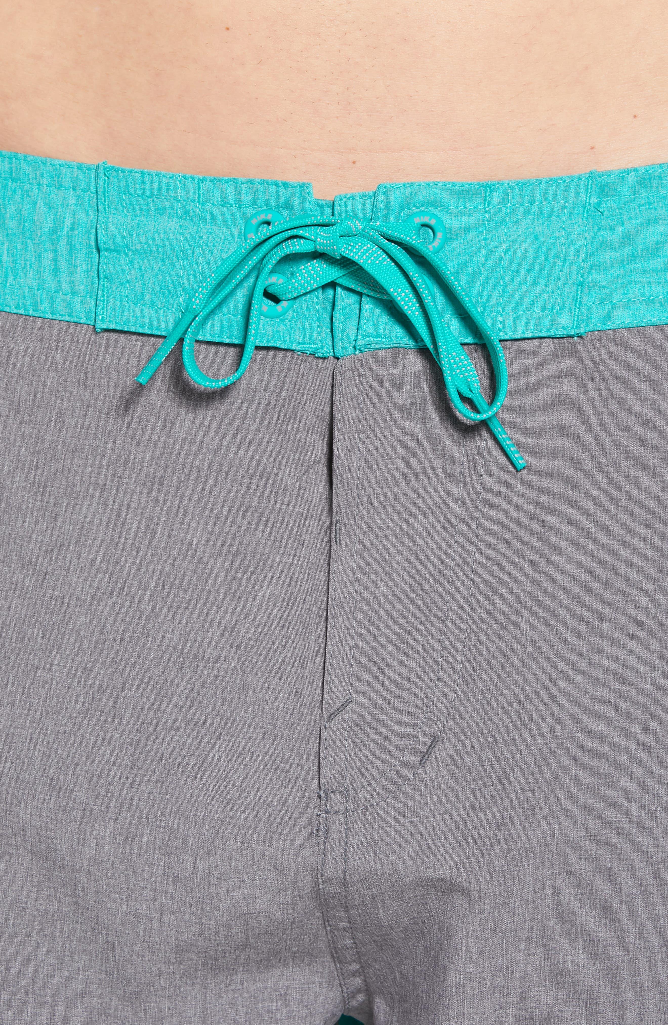 Vortex Board Shorts,                             Alternate thumbnail 3, color,                             Gunsmoke
