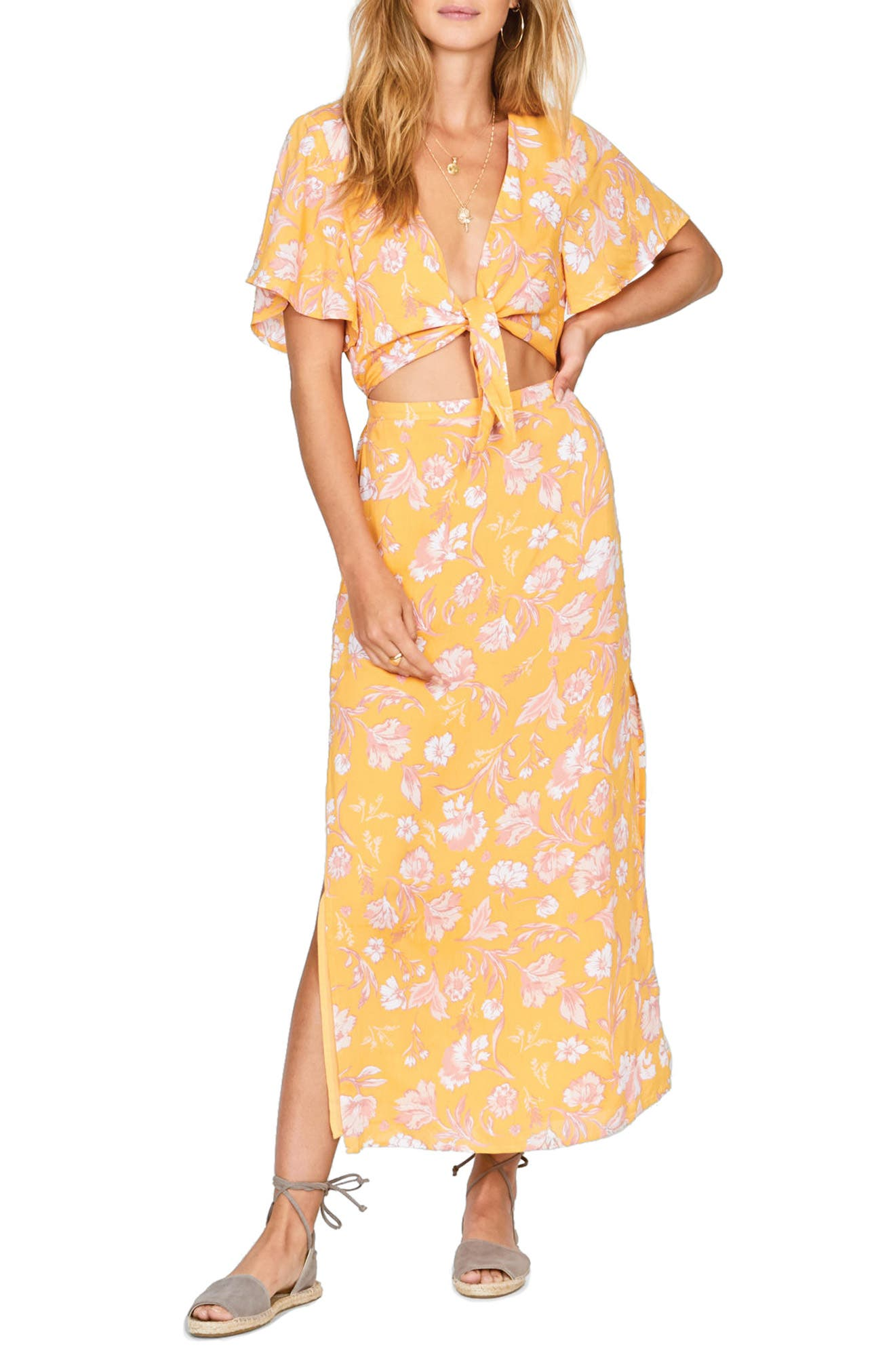 Amuse Society Bohemian Rhapsody Maxi Dress