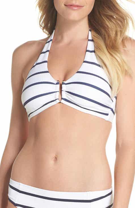 840d3d4406f0a Heidi Klein Core D-G U-Bar Halter Bikini Top