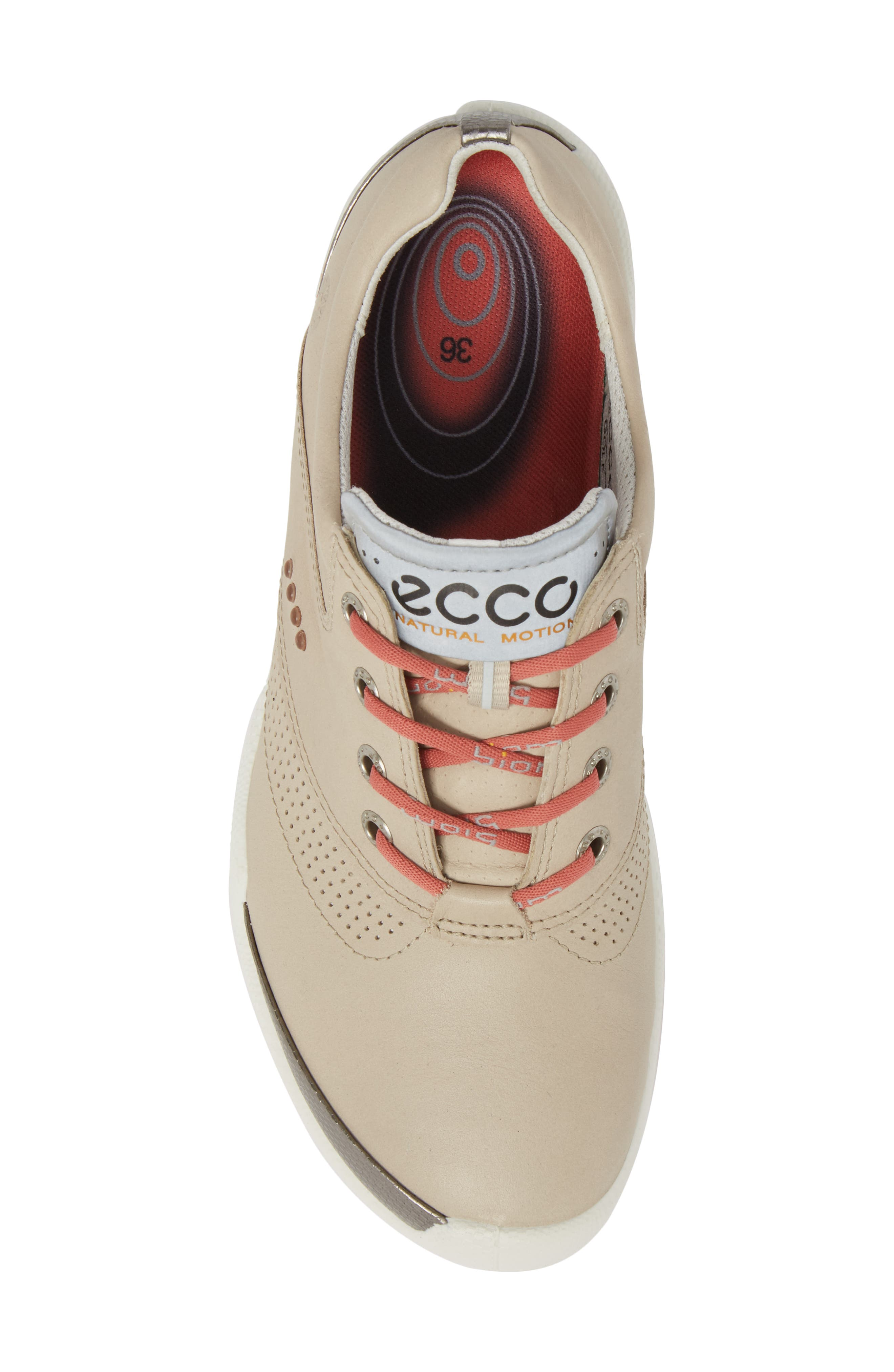 Biom Hybrid Golf Shoe,                             Alternate thumbnail 5, color,                             Oyster Leather