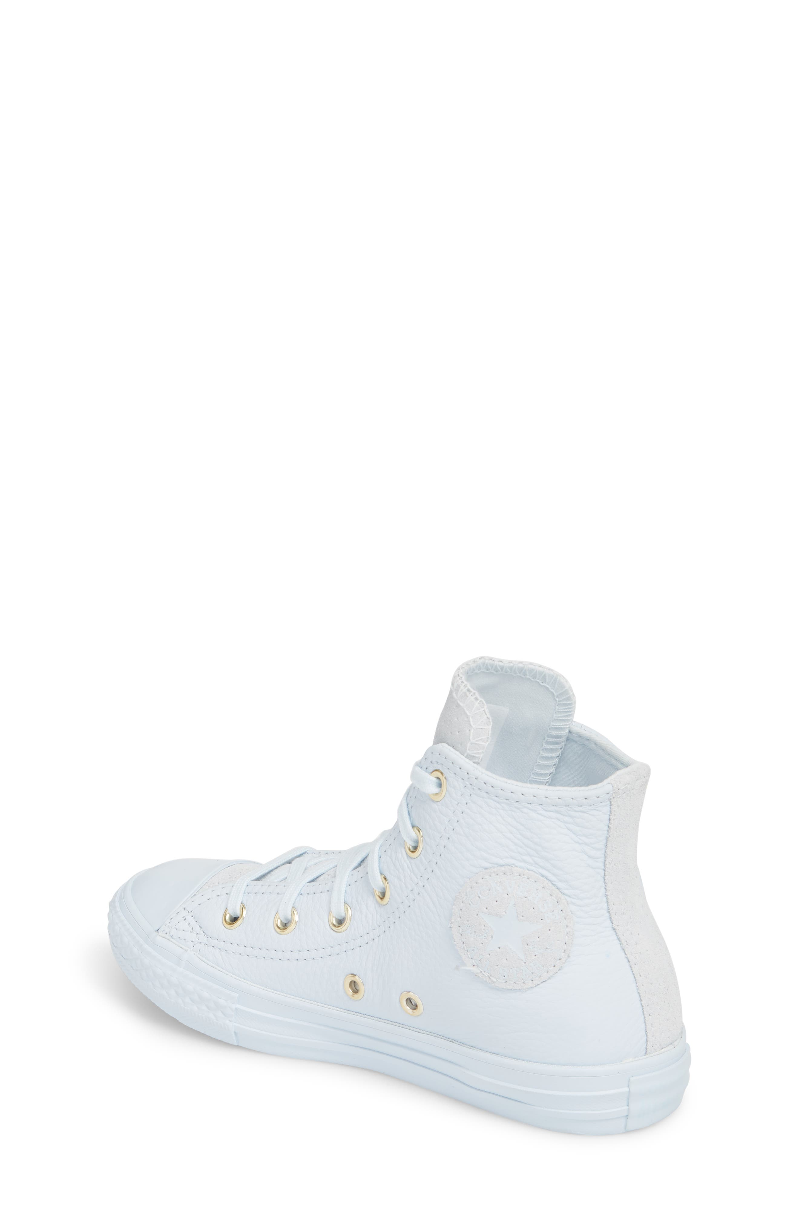 Chuck Taylor<sup>®</sup> All Star<sup>®</sup> Mono High Top Sneaker,                             Alternate thumbnail 2, color,                             Blue Tint