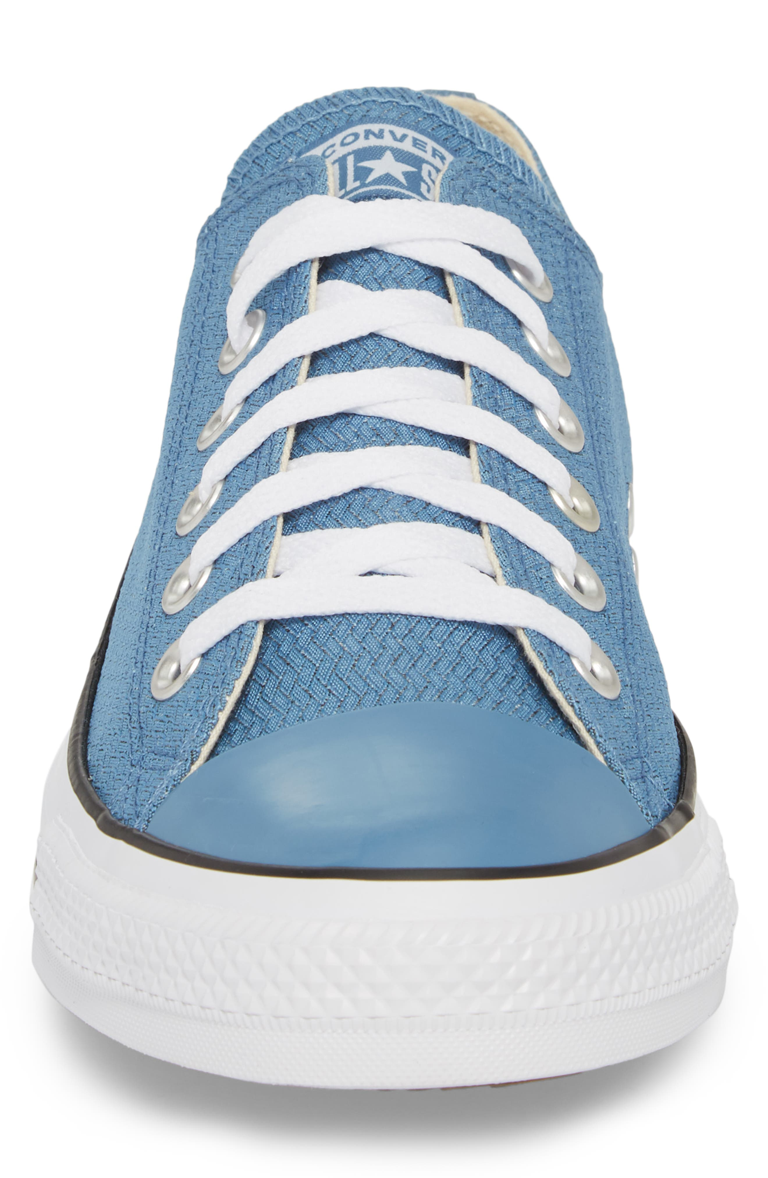 All Star<sup>®</sup> Ripstop Low Top Sneaker,                             Alternate thumbnail 4, color,                             Aegean Storm
