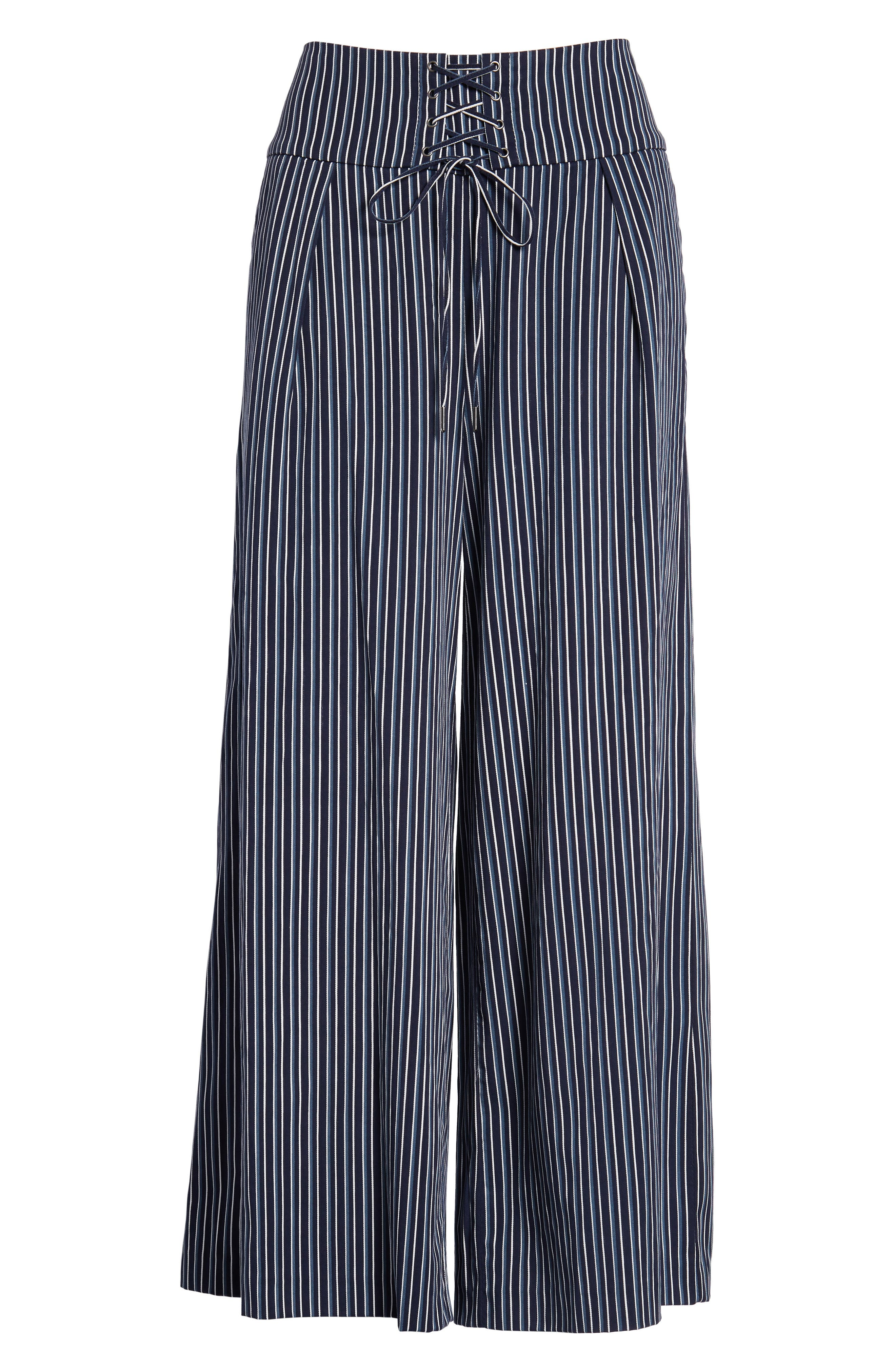 Charisma Pants,                             Alternate thumbnail 4, color,                             Rich Navy Multi
