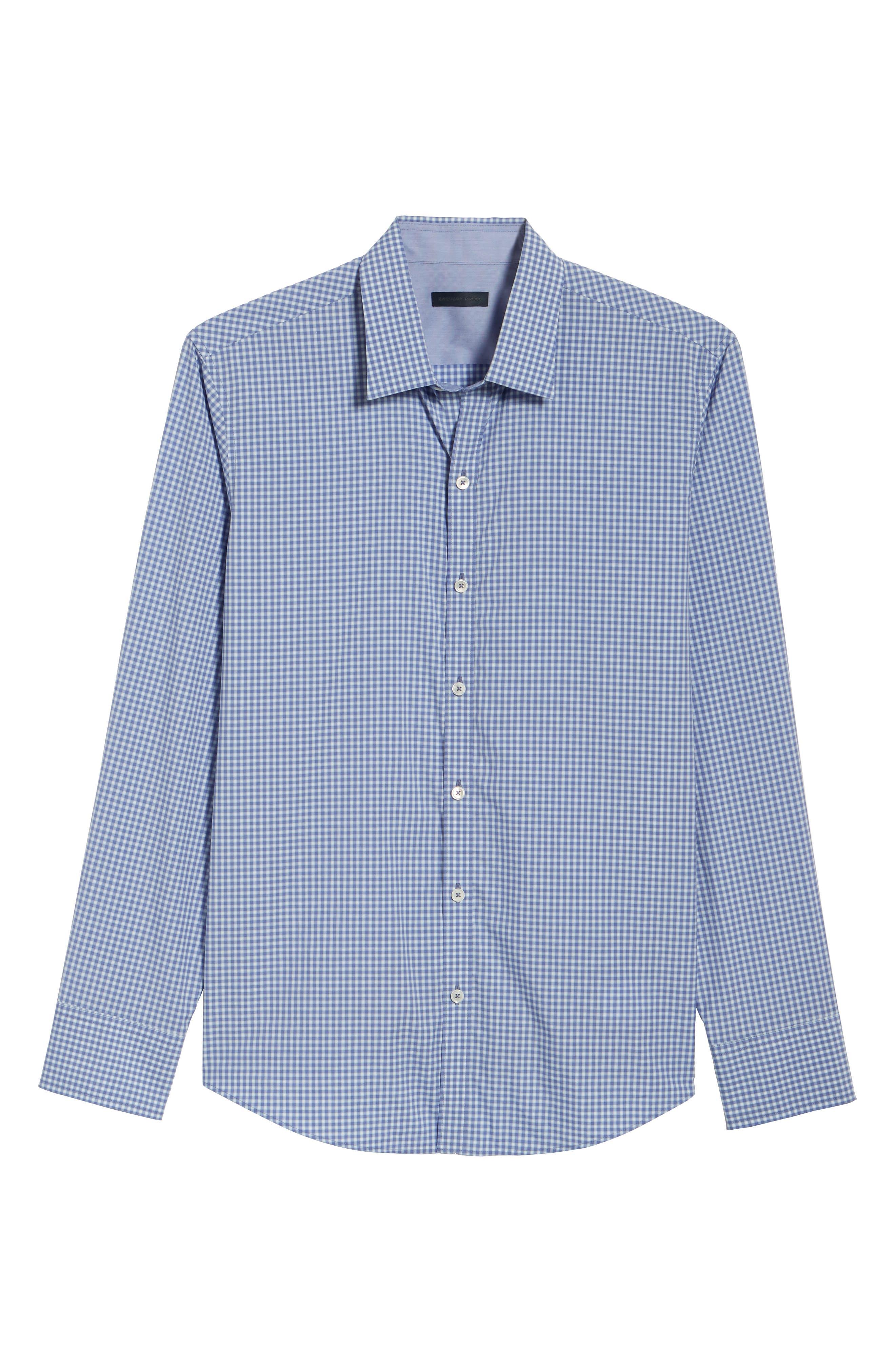 Winston Regular Fit Sport Shirt,                             Alternate thumbnail 6, color,                             Ocean