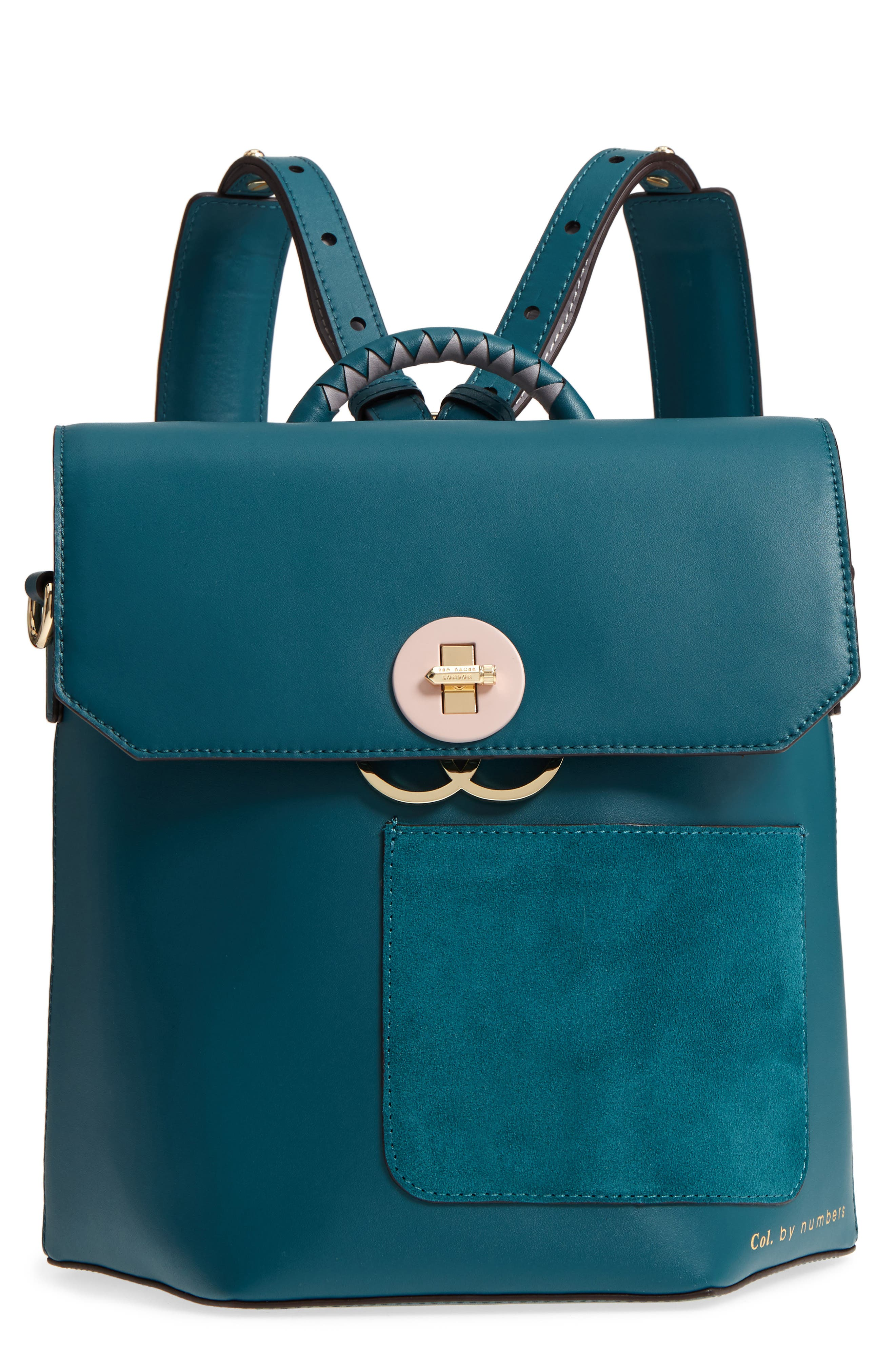 Ted Baker London Colour by Numbers Leather Backpack