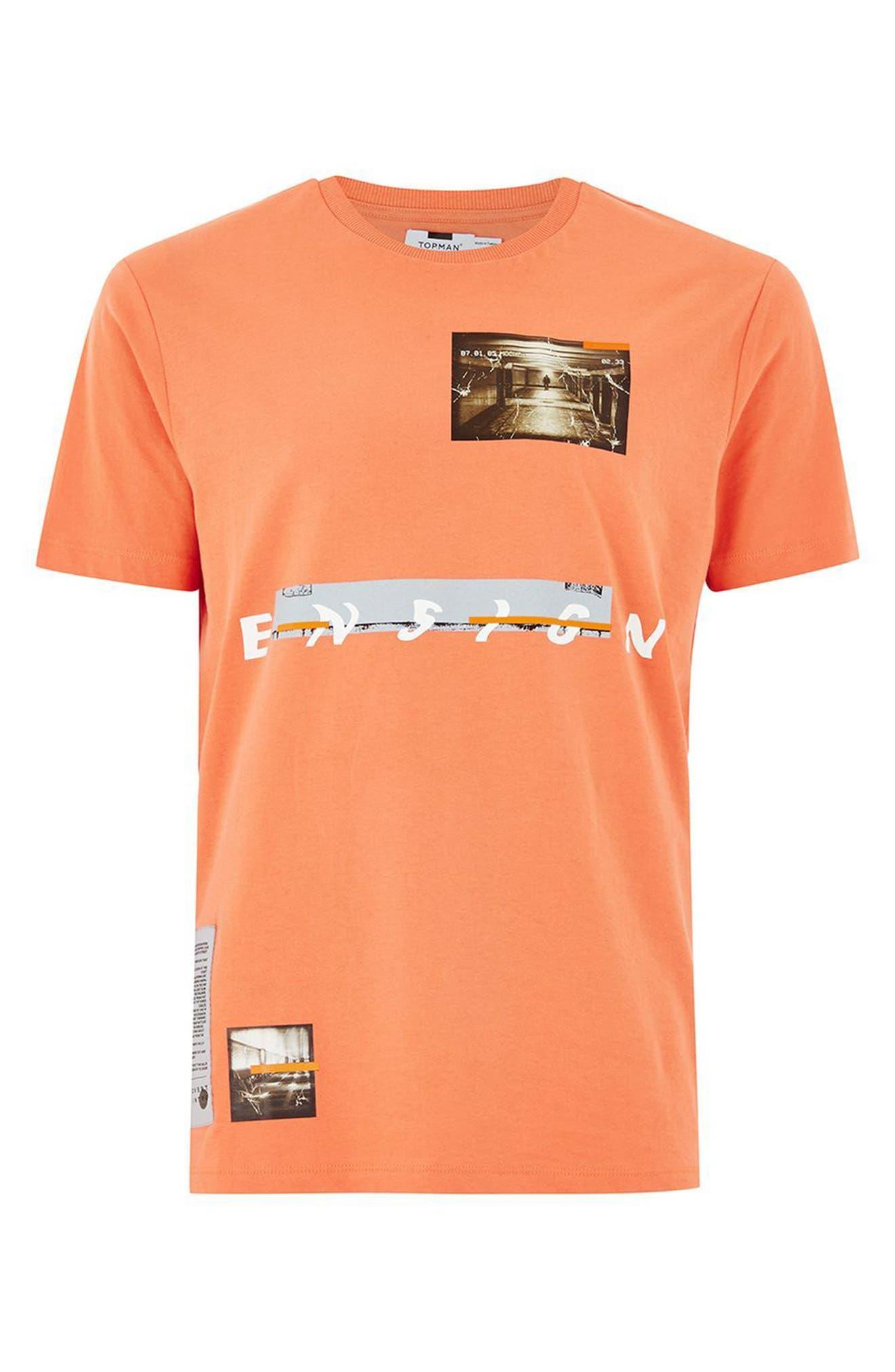 Alternate Image 1 Selected - Topman Ensign Graphic T-Shirt