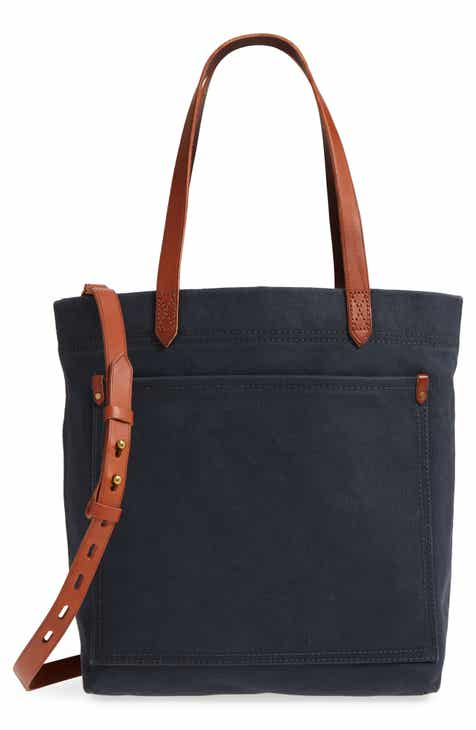 7d030724b26a Madewell Medium Canvas Transport Tote