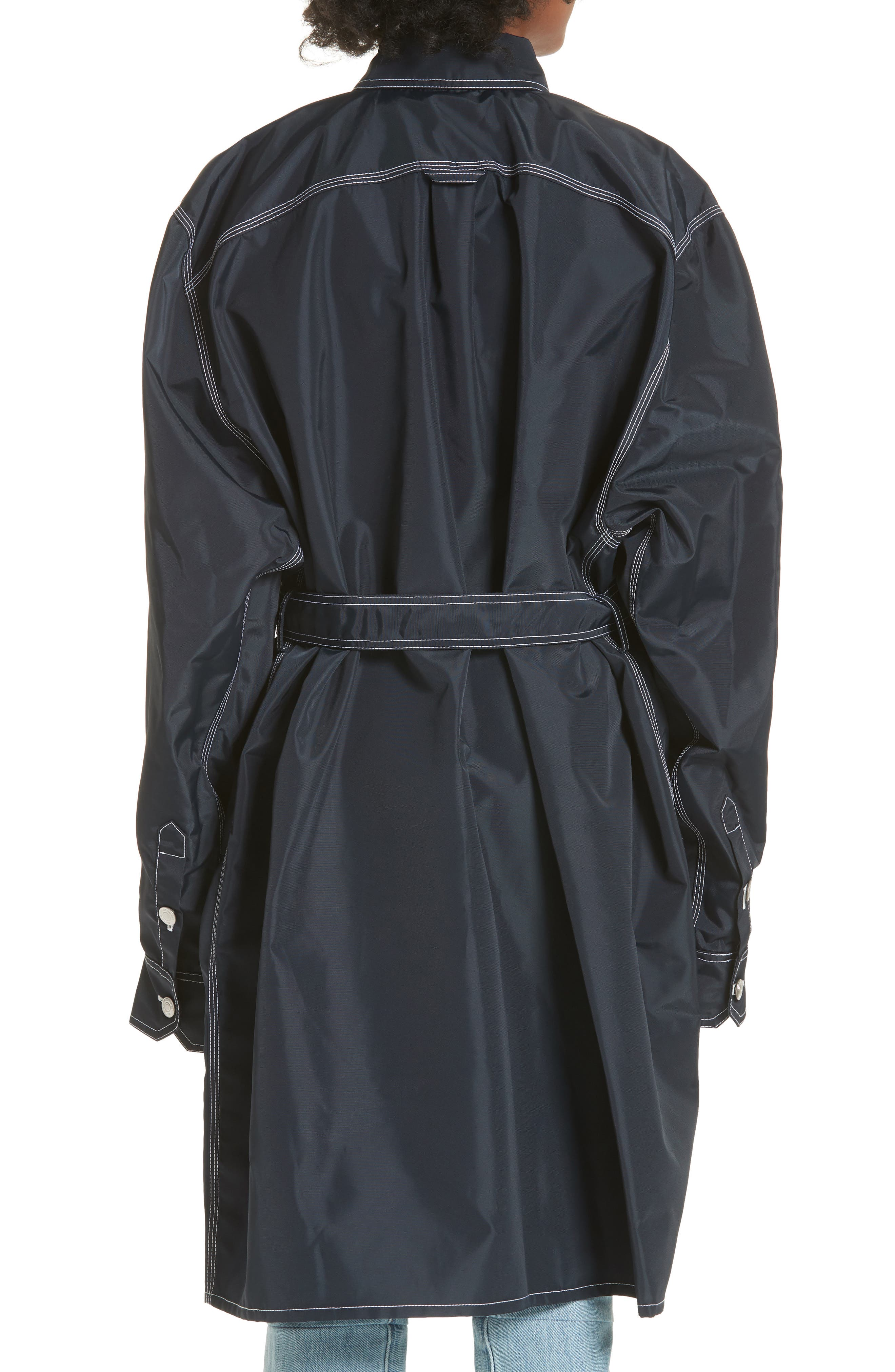 Workwear Coat,                             Alternate thumbnail 2, color,                             Navy