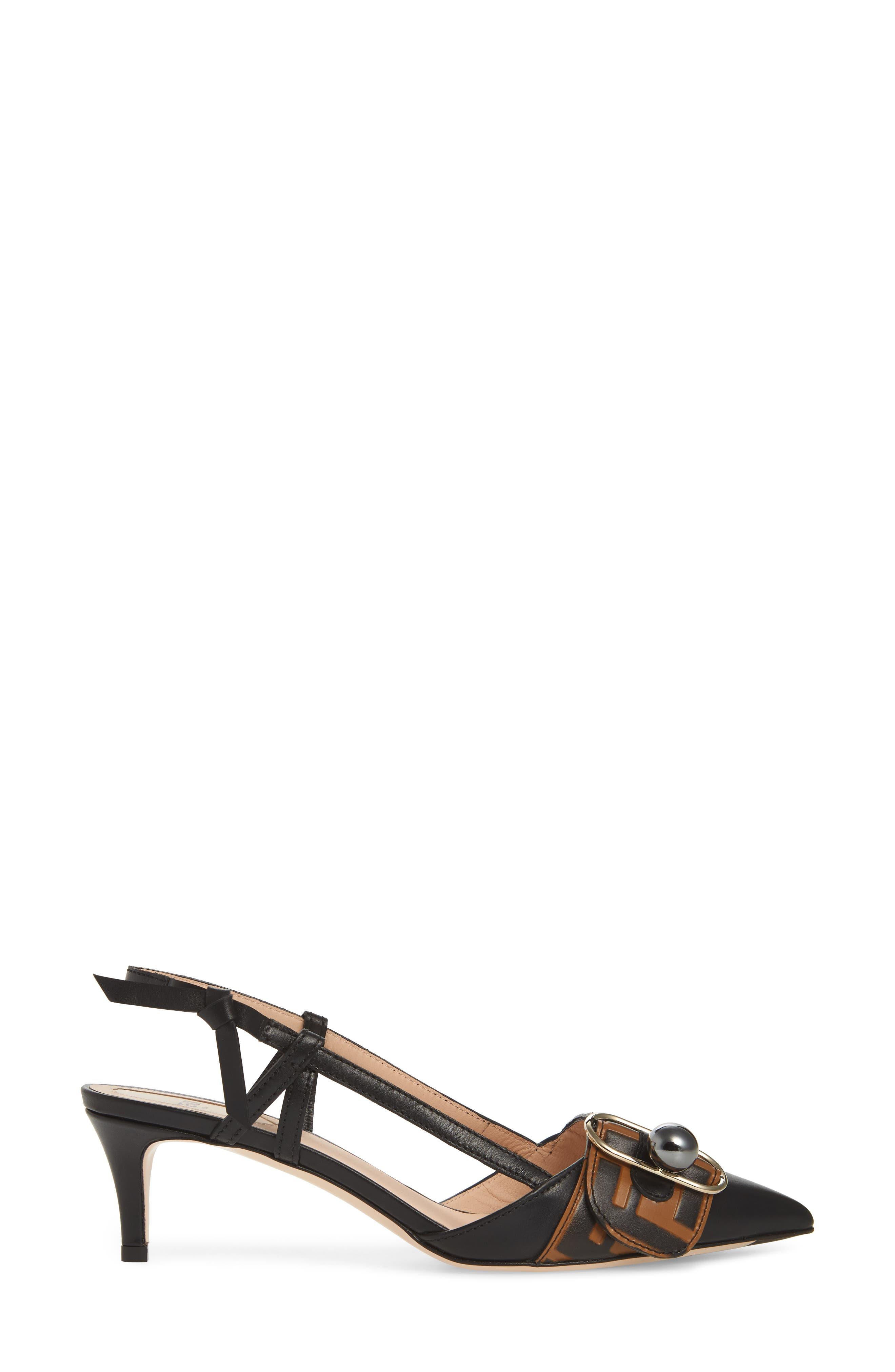 Fendi Women's Pearland Slingback Sandal wzydBhu6Kc