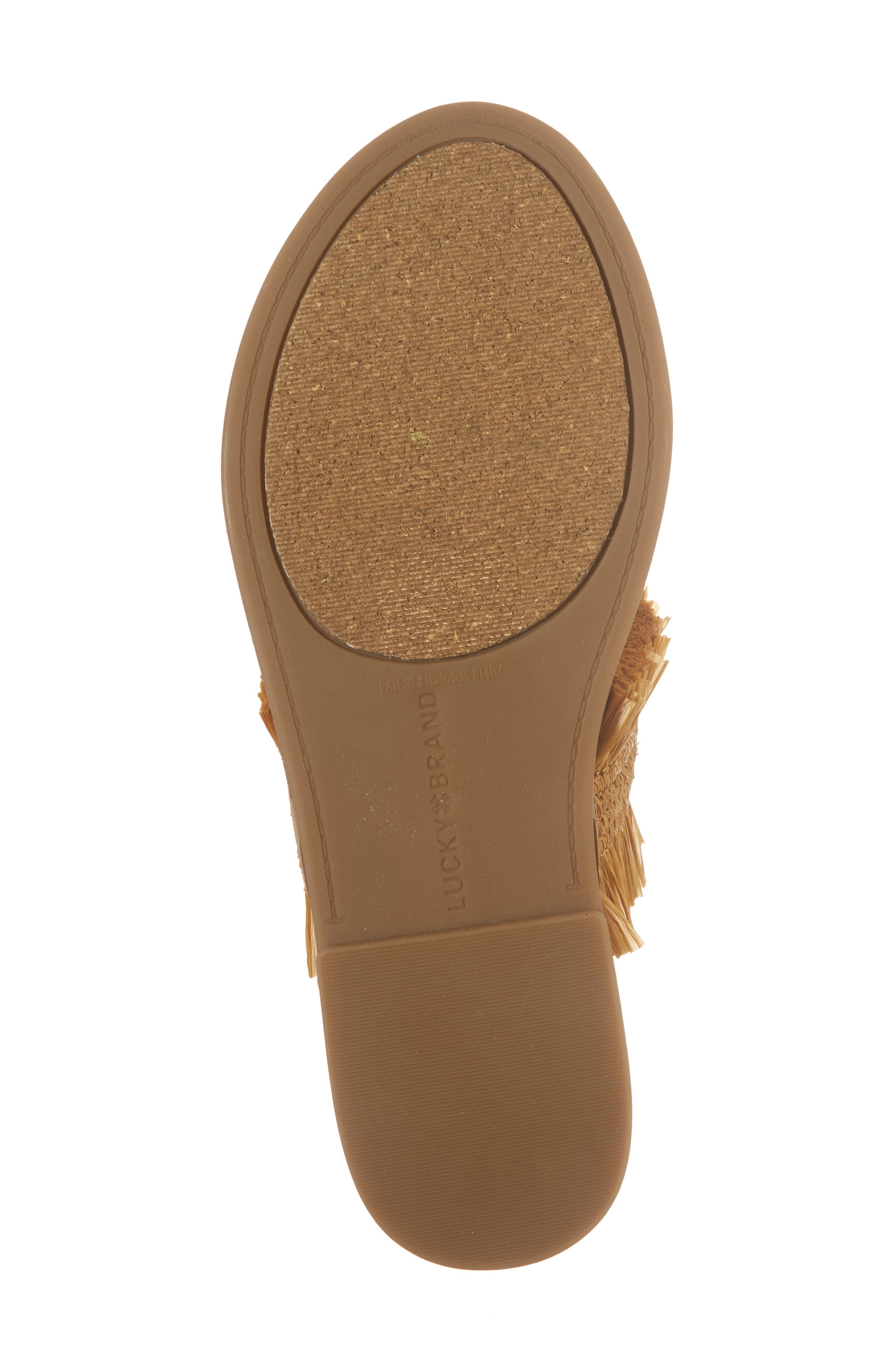 Akerlei Sandal,                             Alternate thumbnail 6, color,                             Saffron Leather