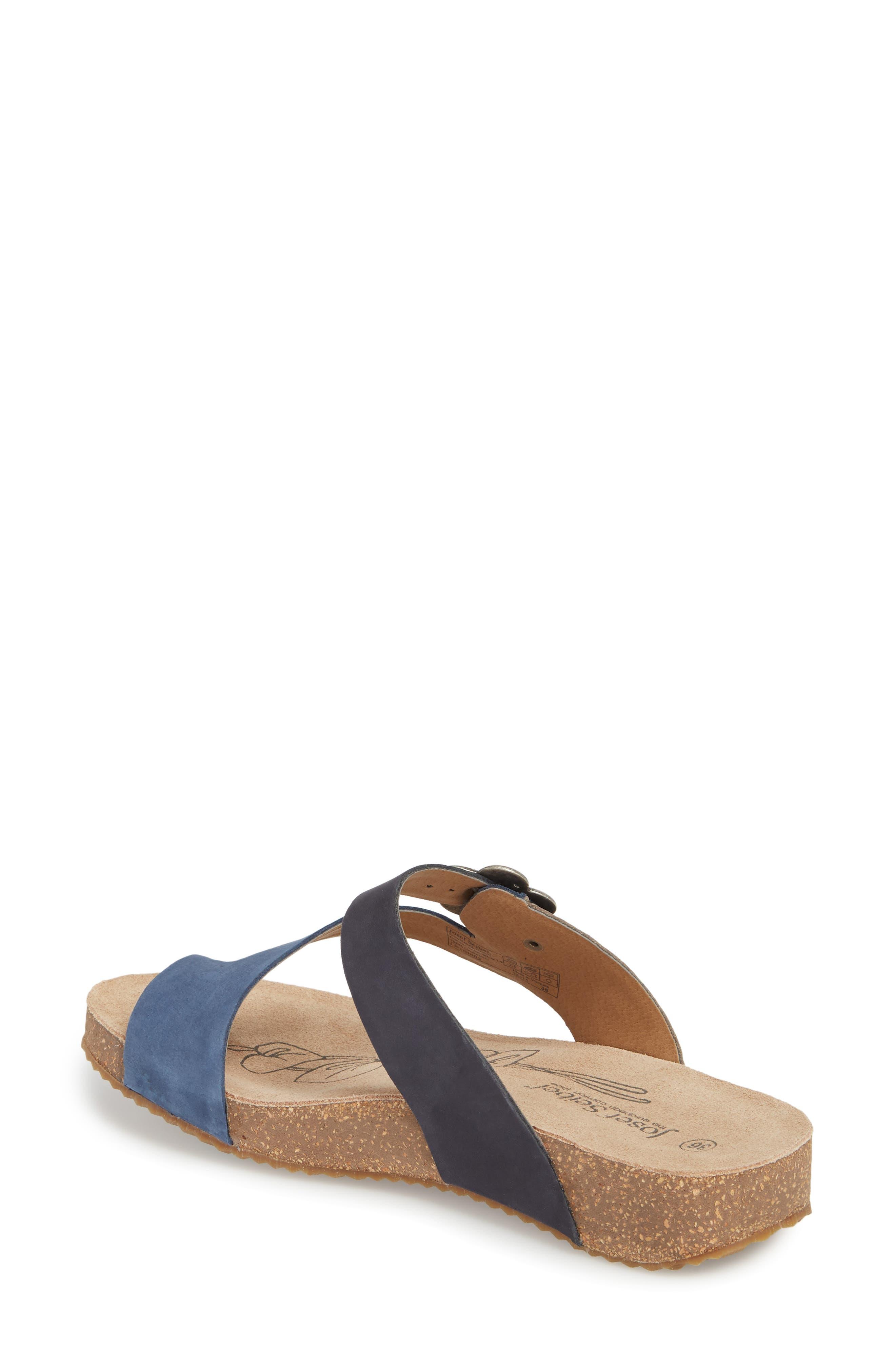 Tonga 23 Sandal,                             Alternate thumbnail 2, color,                             Blue Multi Leather