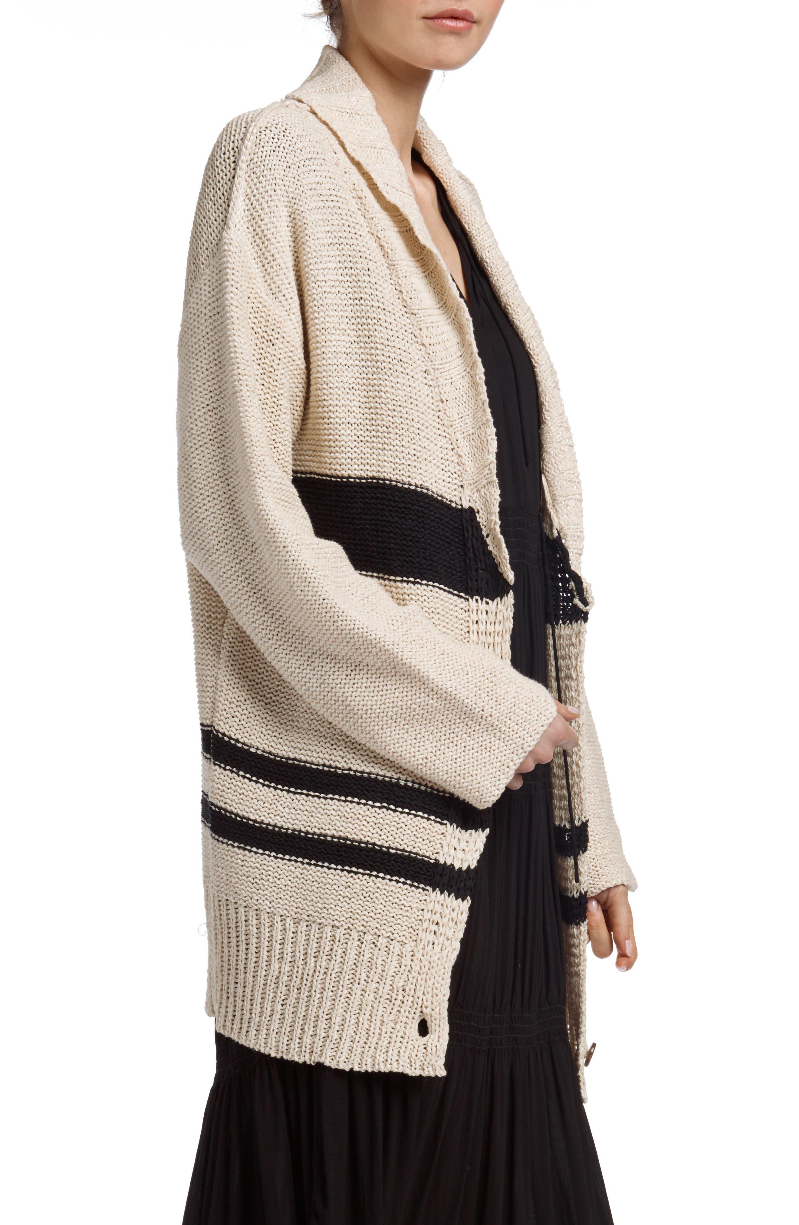 Alternate Image 3  - James Perse Cotton & Linen Blend Beach Sweater