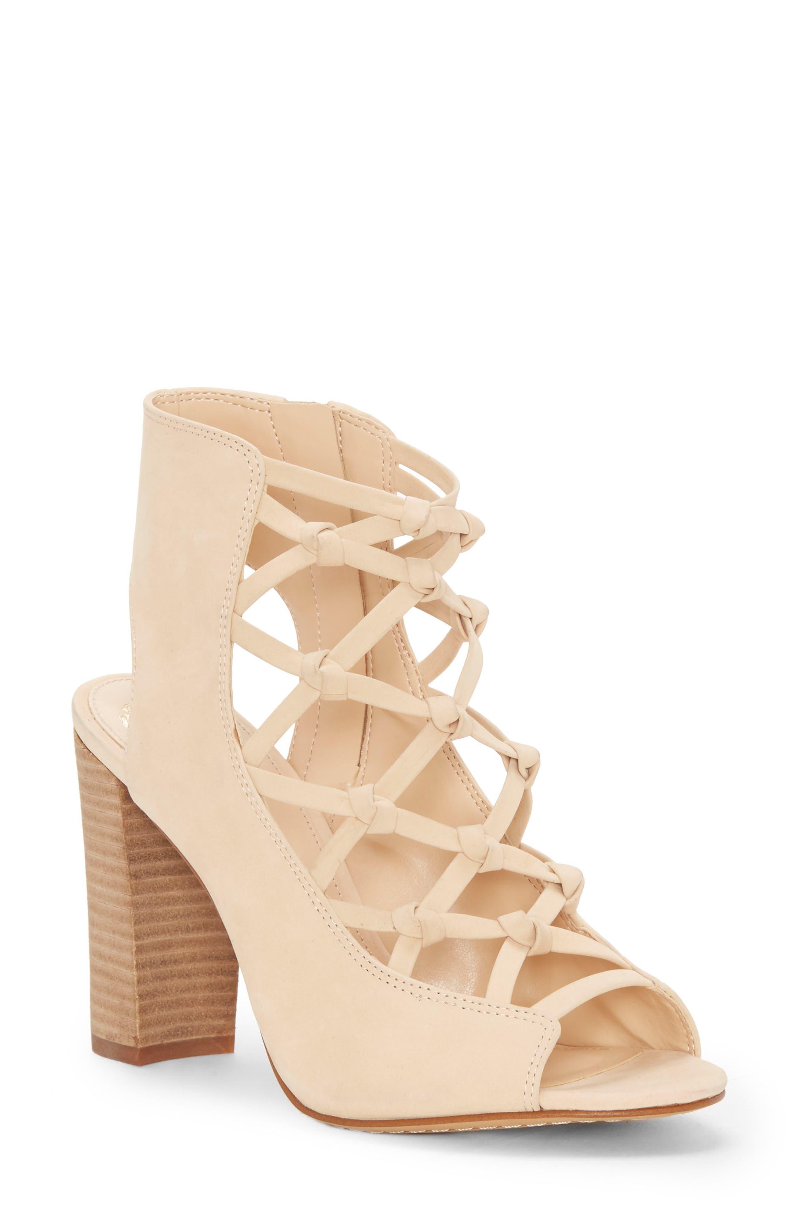 Stesha Sandal,                         Main,                         color, Beauty Leather