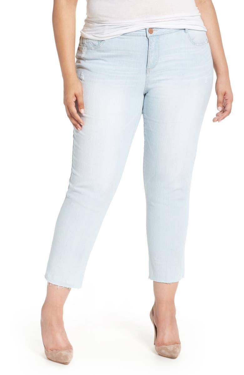 Flex-ellent Distressed Boyfriend Jeans