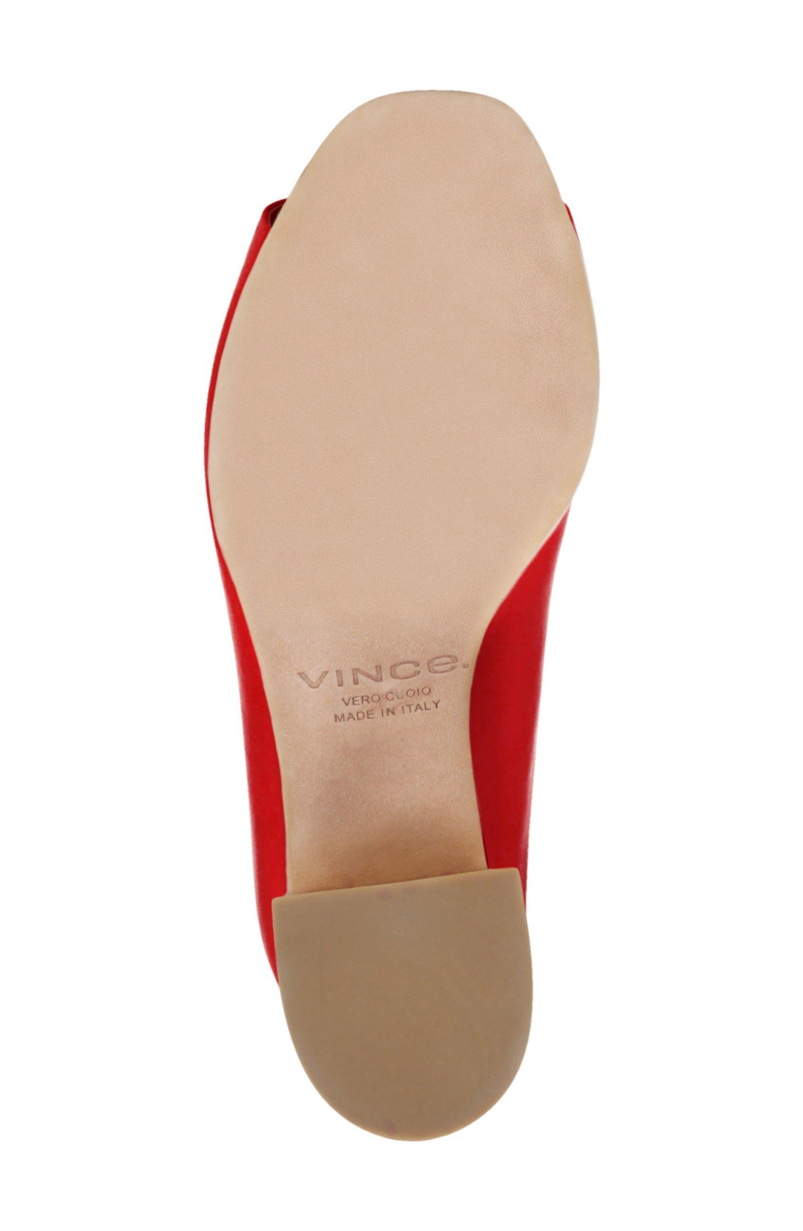 Cachet Sandal,                             Alternate thumbnail 5, color,                             Red
