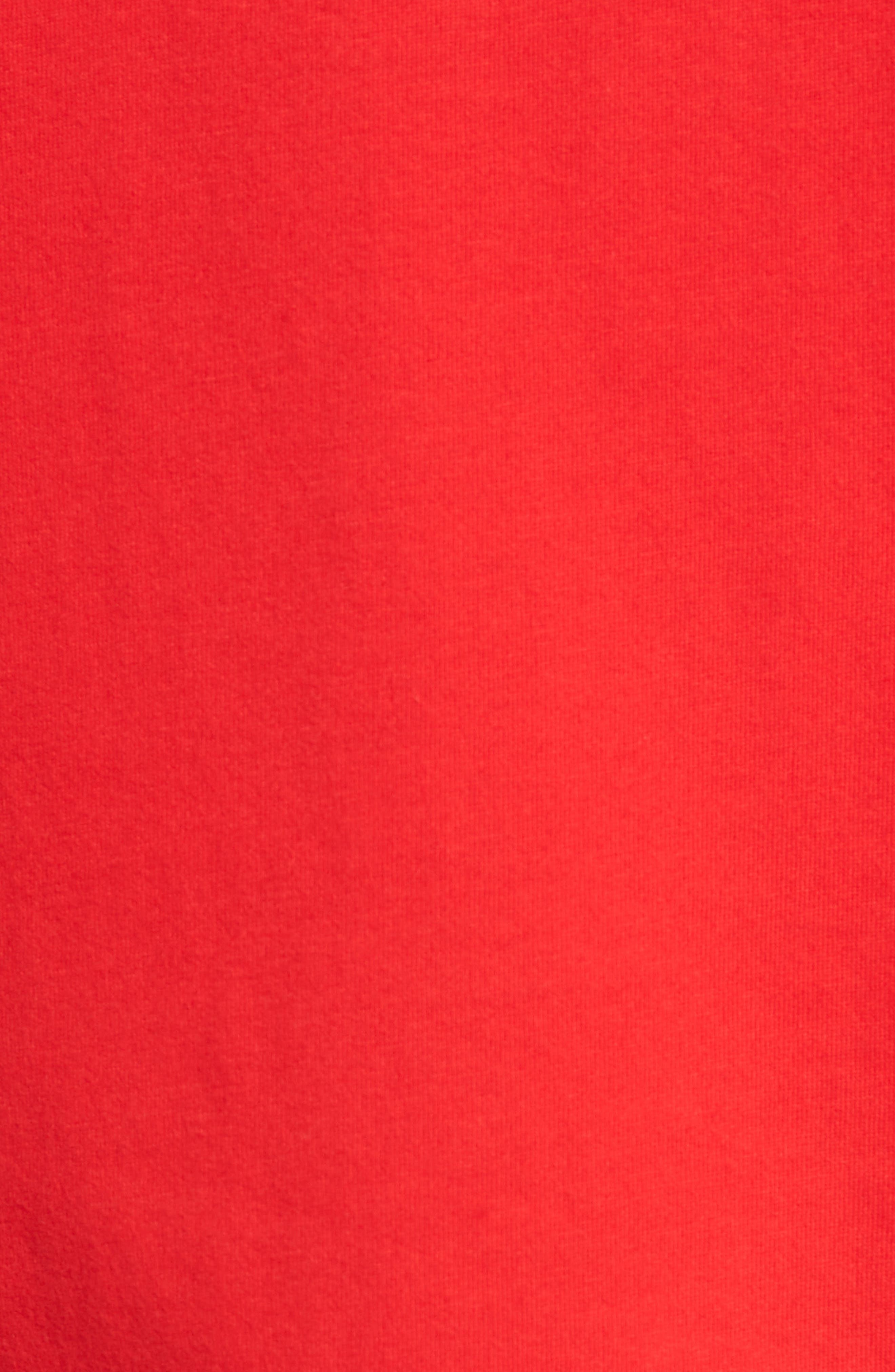 'Tee-Futura Icon' Graphic T-Shirt,                             Alternate thumbnail 5, color,                             Red/ Black