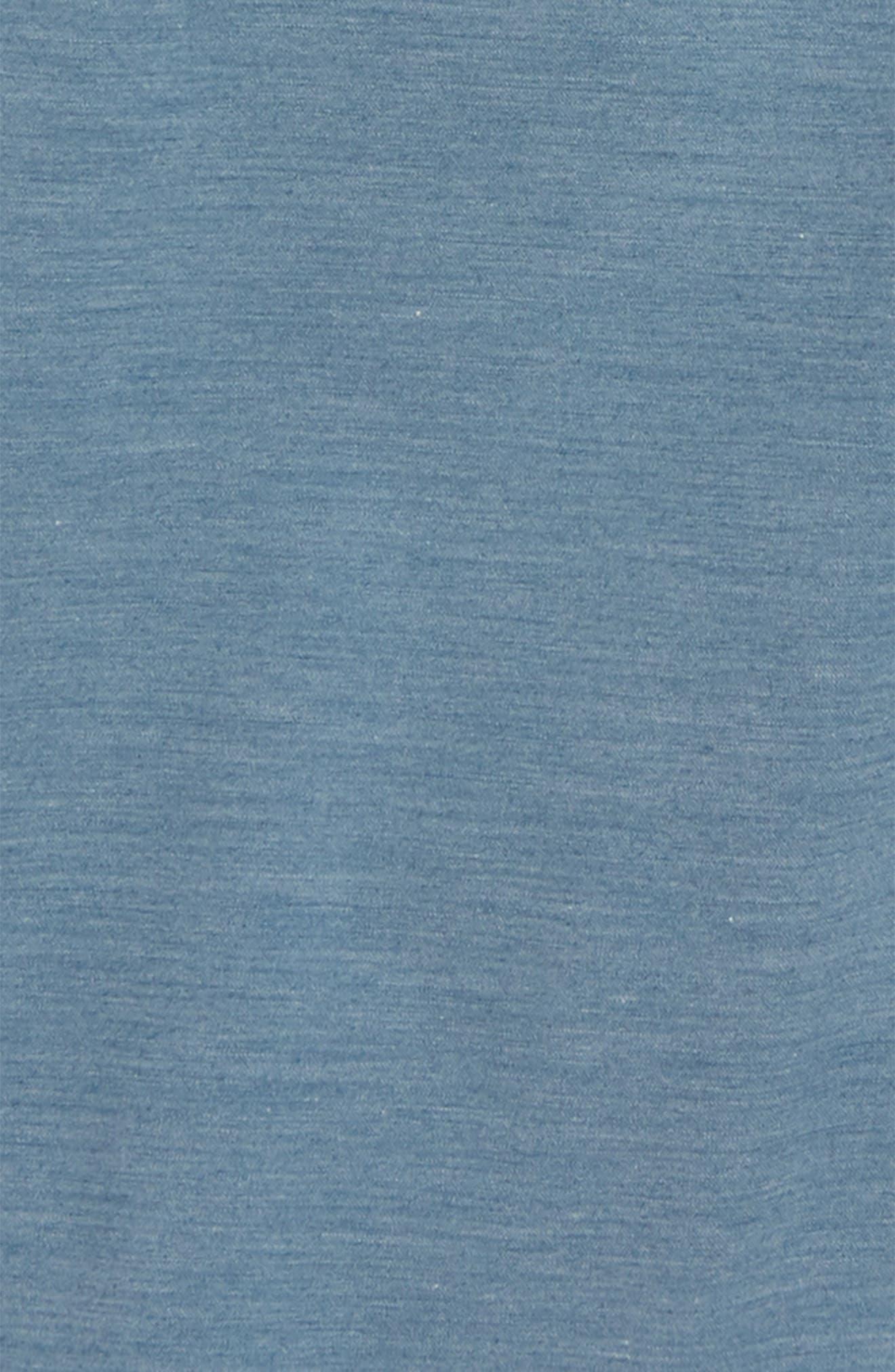 Authentic Decksider Hybrid Shorts,                             Alternate thumbnail 2, color,                             Copen Blue
