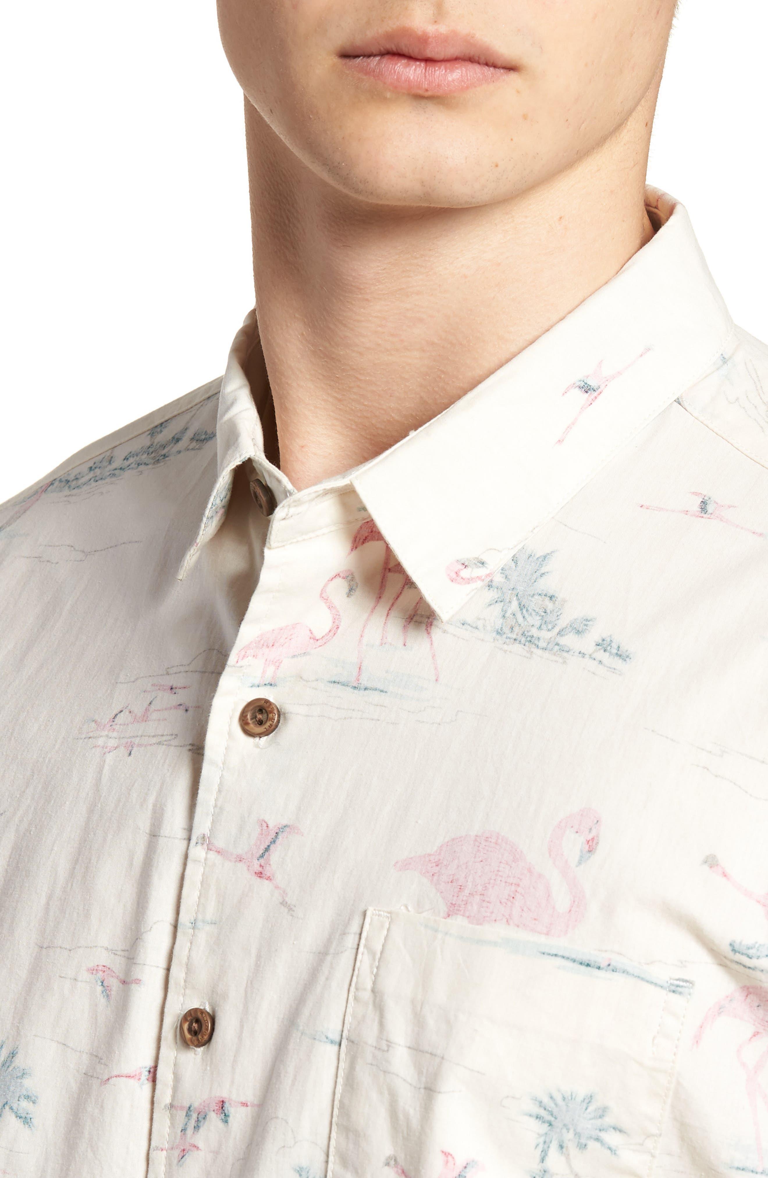 Alternate Image 4  - Rip Curl Bocas Woven Shirt