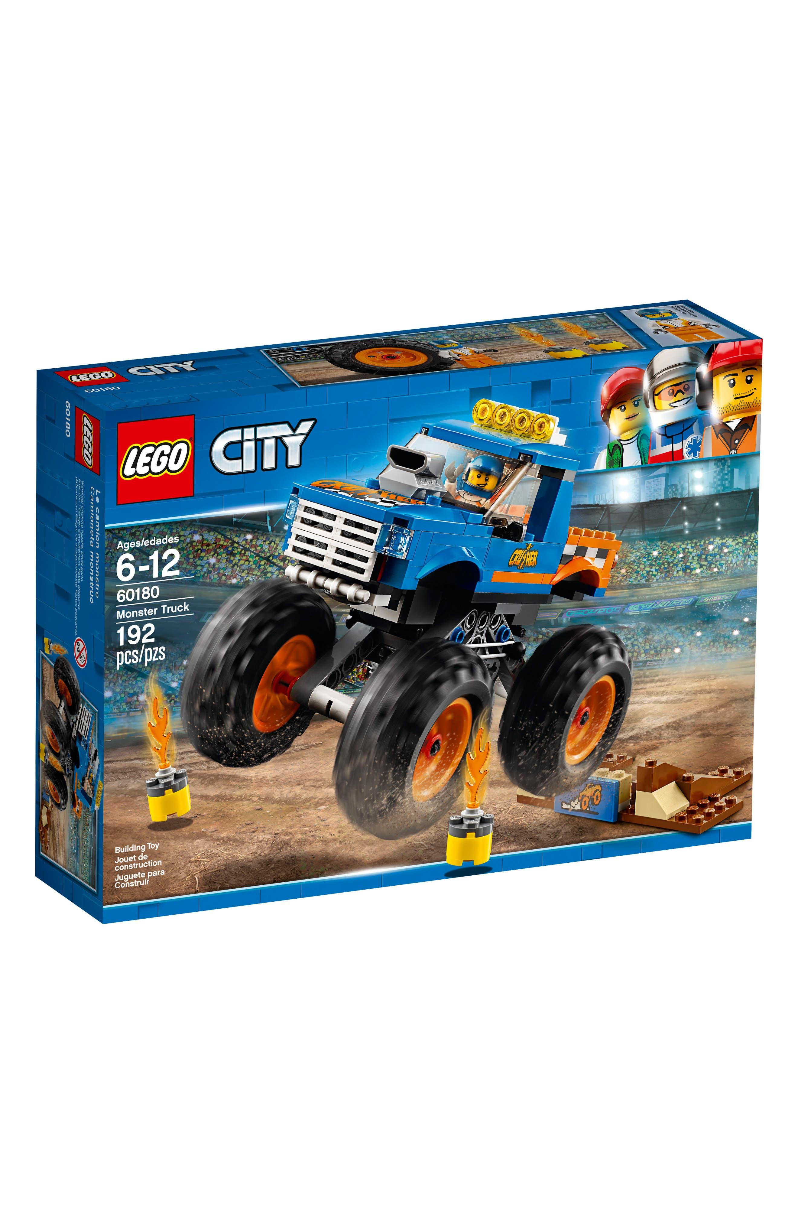 City Monster Truck - 60180,                             Main thumbnail 1, color,                             Multi