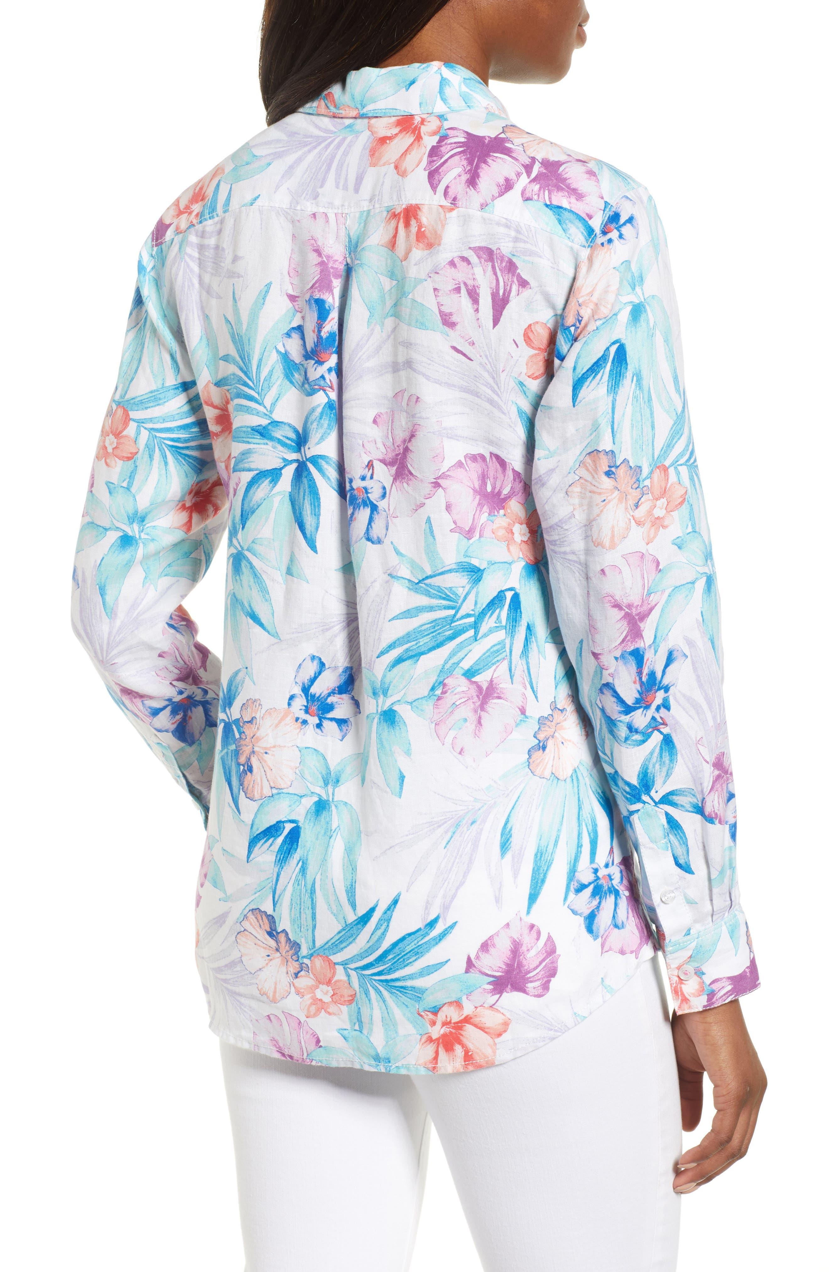Valentina Villa Shirt,                             Alternate thumbnail 2, color,                             White
