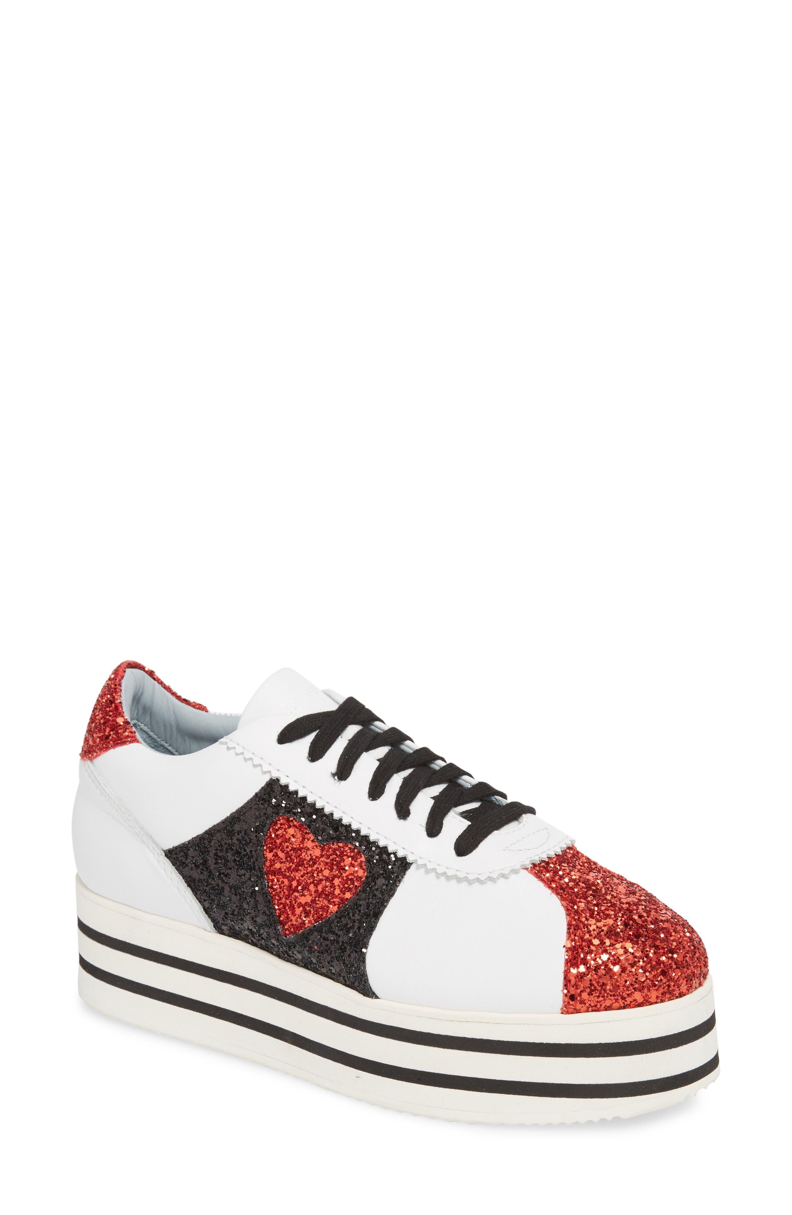 Chiara Ferragni Glitter Platform Sneaker (Women)
