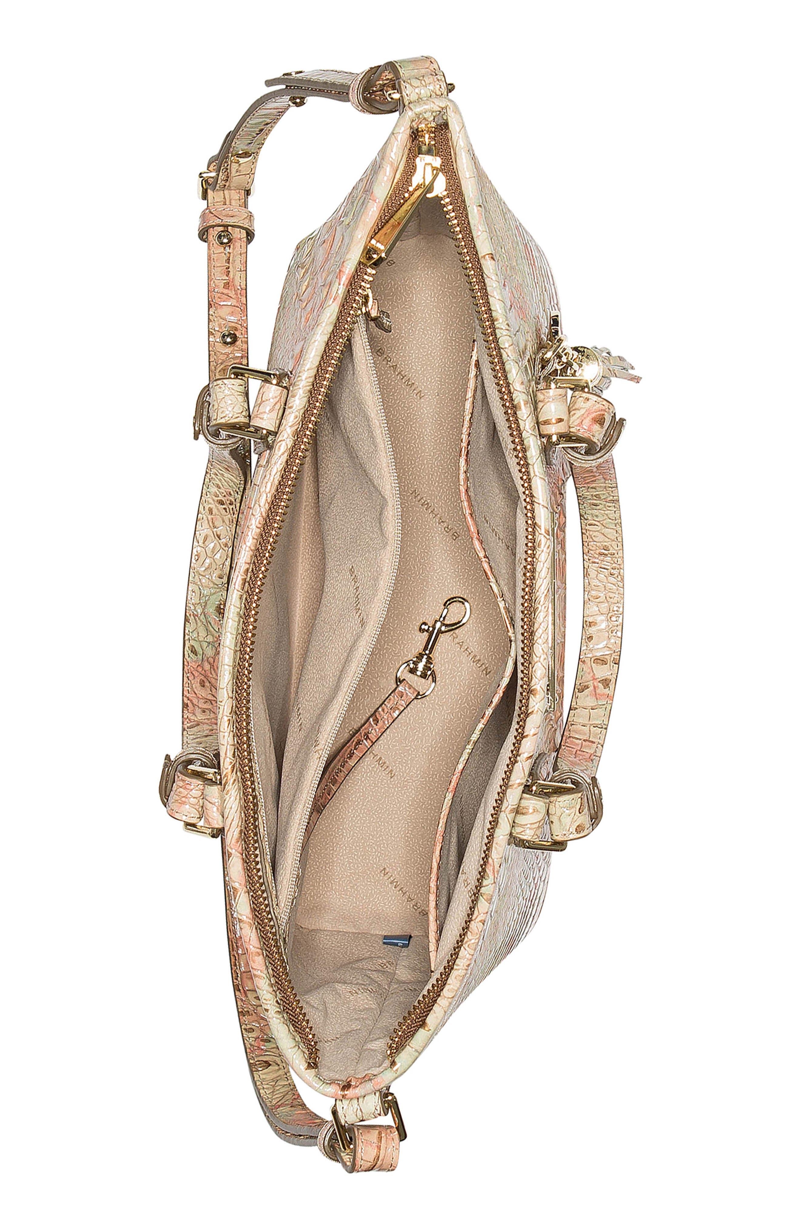Melbourne Mini Asher Leather Tote,                             Alternate thumbnail 4, color,                             Sahara