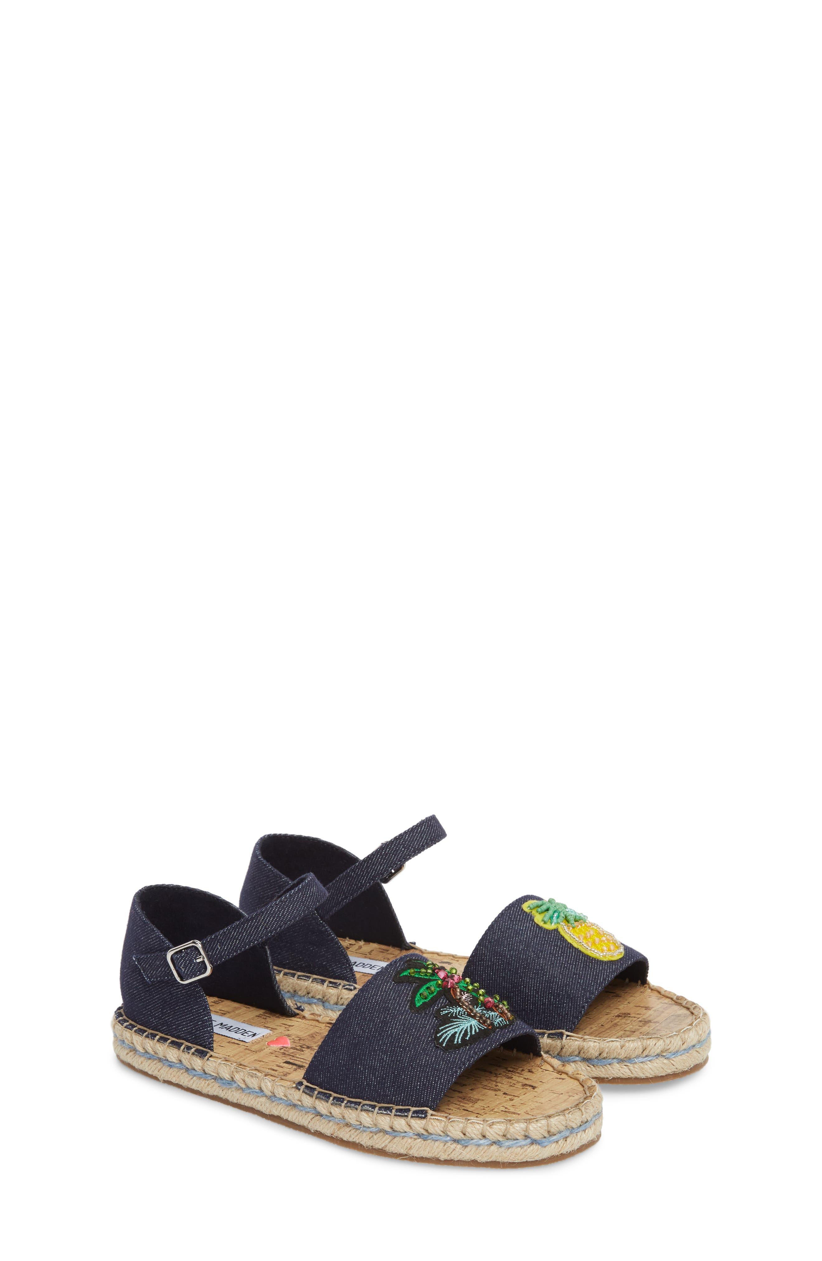 JLUAO Tropical Embellished Sandal,                             Alternate thumbnail 3, color,                             Fruit Multi