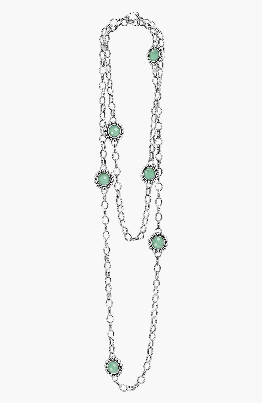 LAGOS 'Maya' Long Station Necklace