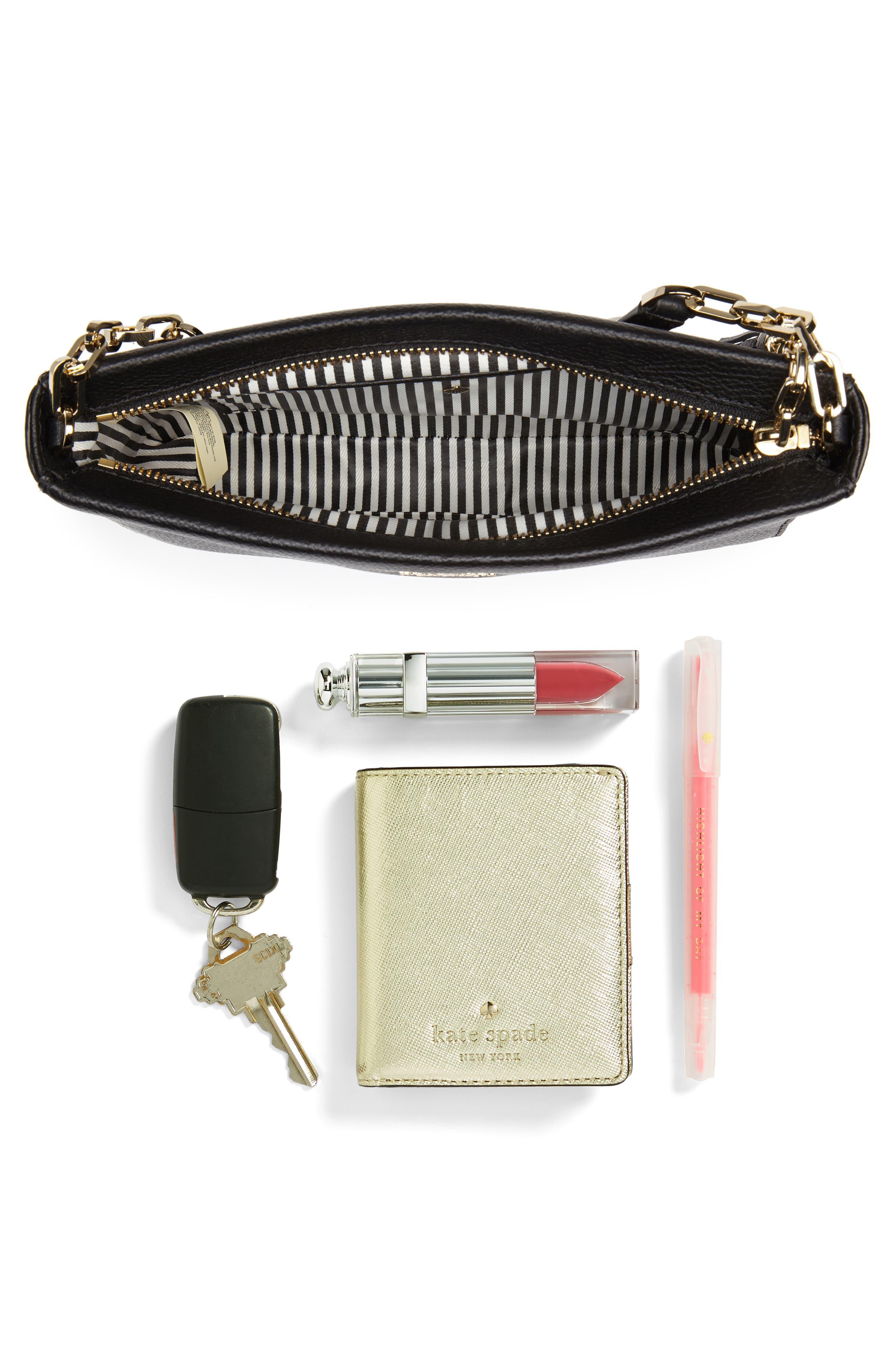 kingston drive - alessa leather shoulder/crossbody bag,                             Alternate thumbnail 7, color,