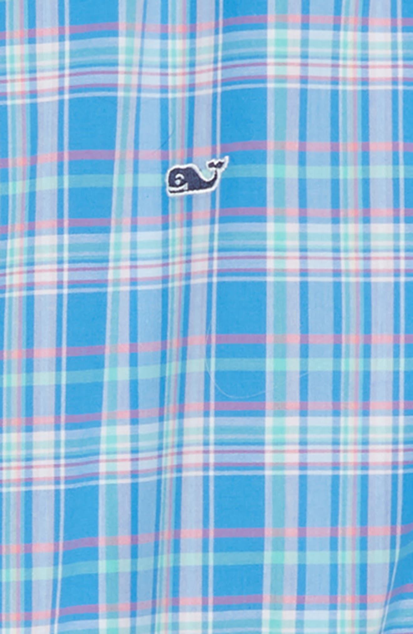 Bita Bay Plaid Shirt,                             Alternate thumbnail 2, color,                             Hull Blue