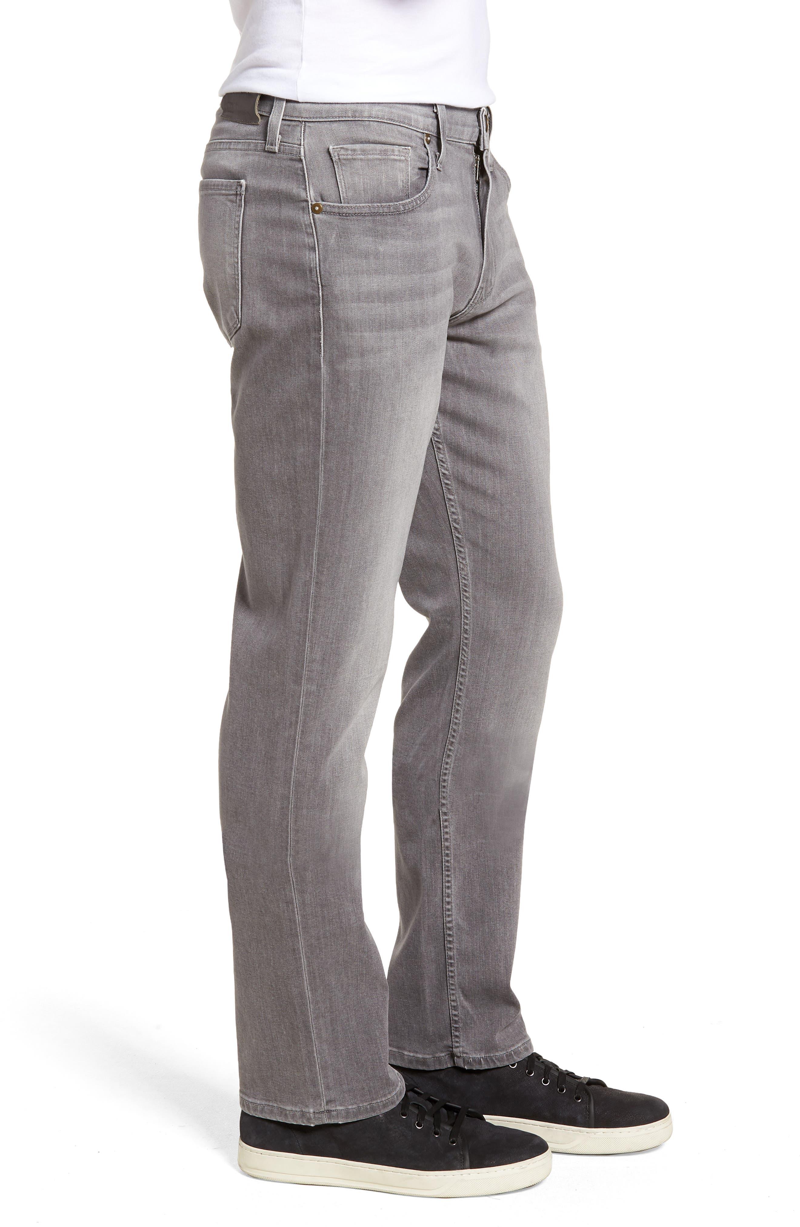 Normandie Straight Leg Jeans,                             Alternate thumbnail 3, color,                             Annex