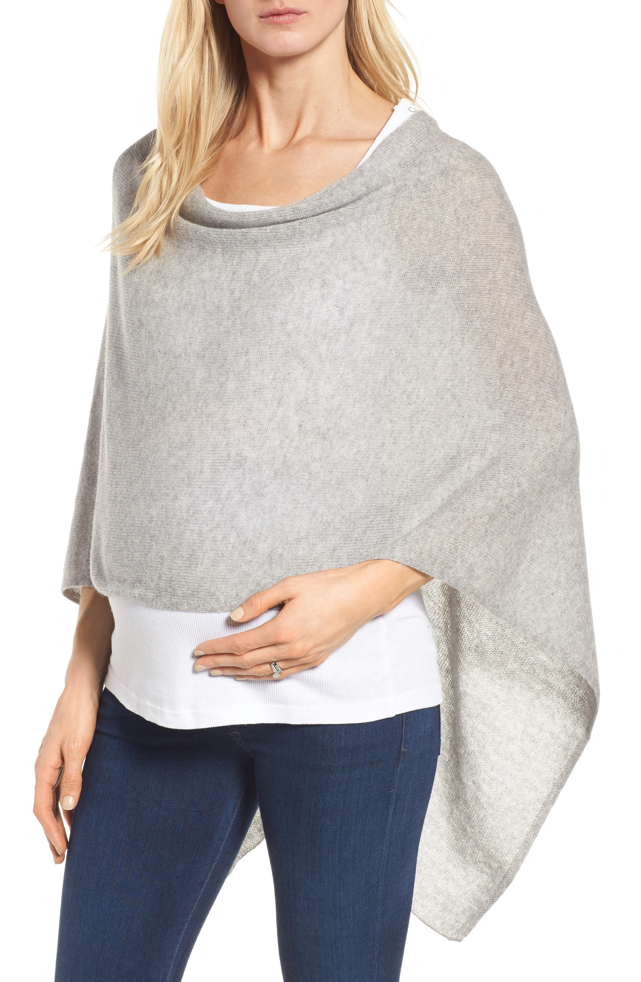 Alternate Image 1 Selected - Tees by Tina Cashmere Maternity Cape